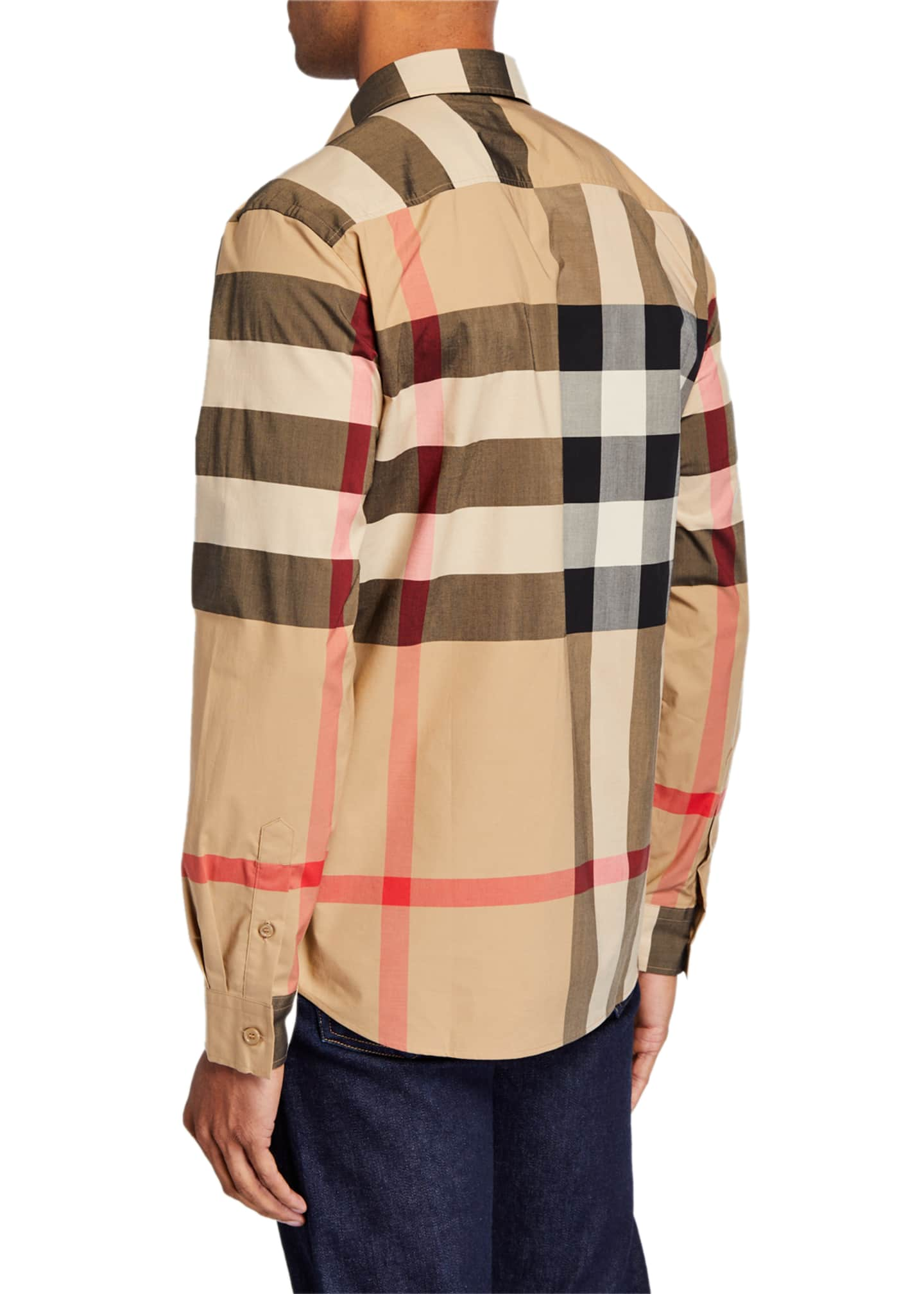 Image 2 of 2: Men's Somerton Check Sport Shirt