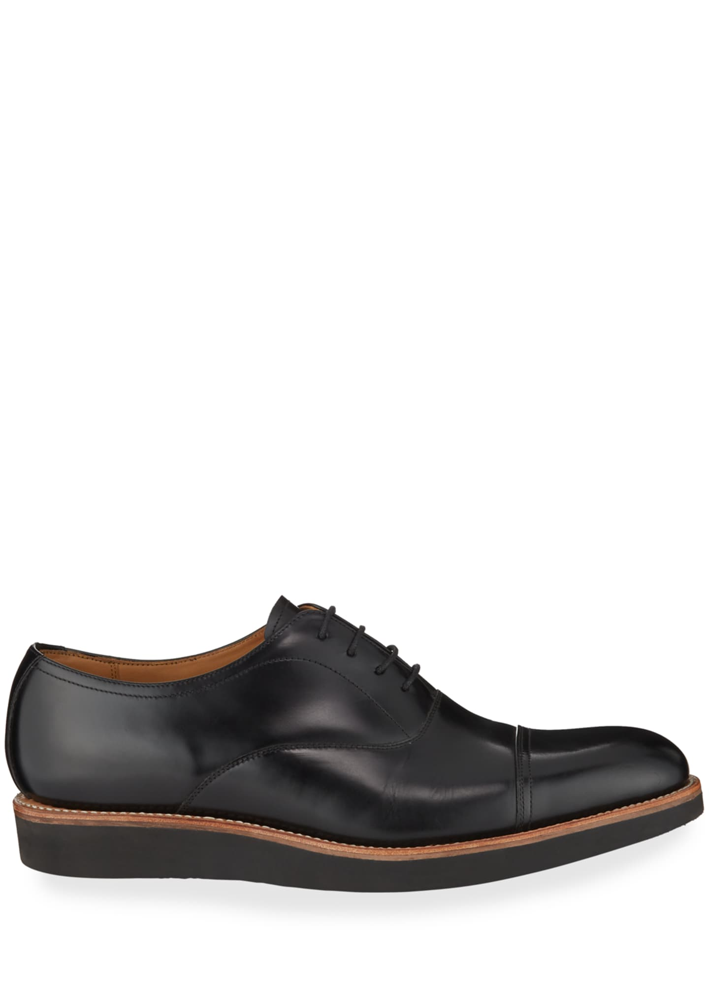 Image 3 of 3: Men's Elliot Leather Oxford Shoes