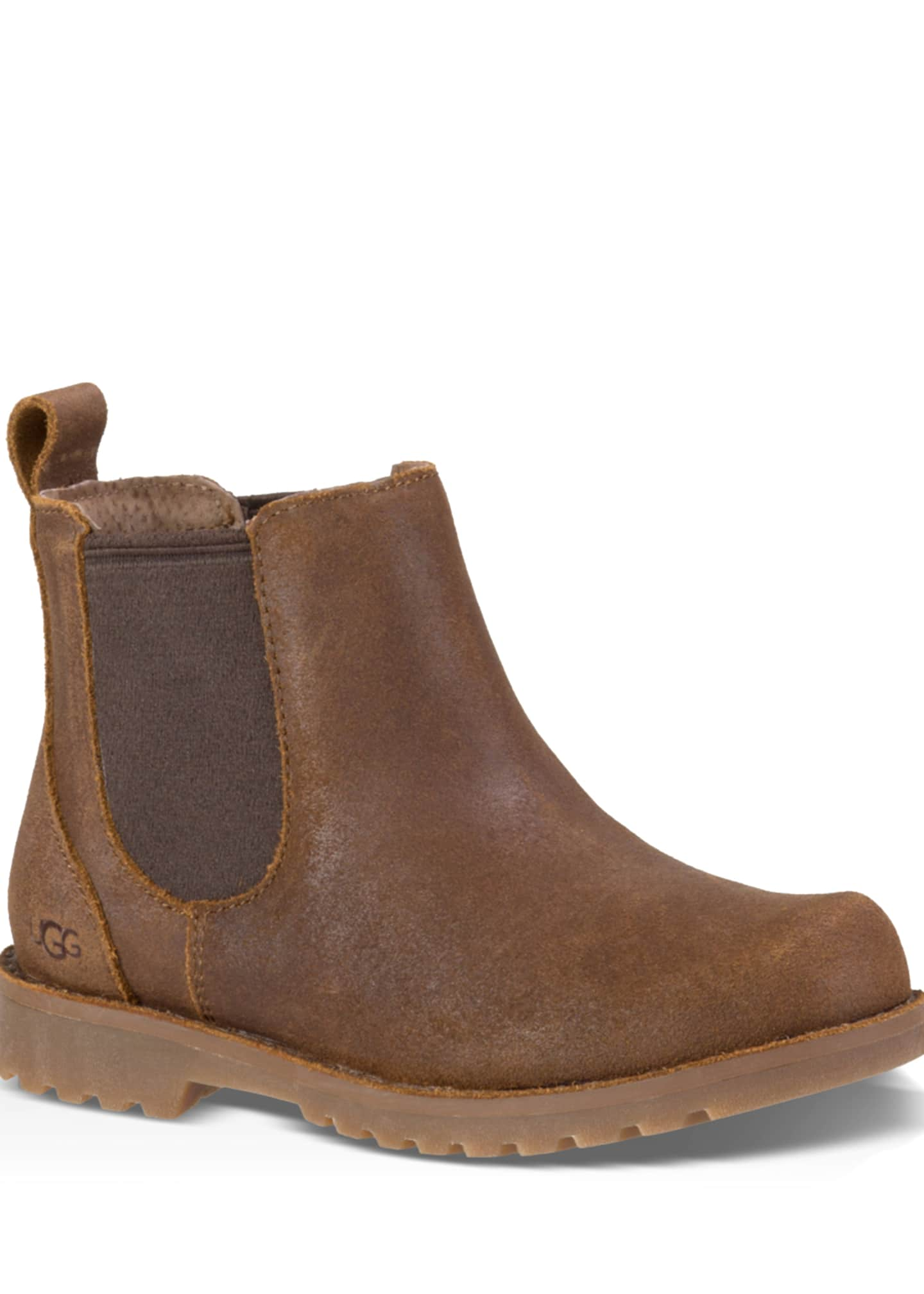 UGG Callum Leather Chelsea Boots, Kids