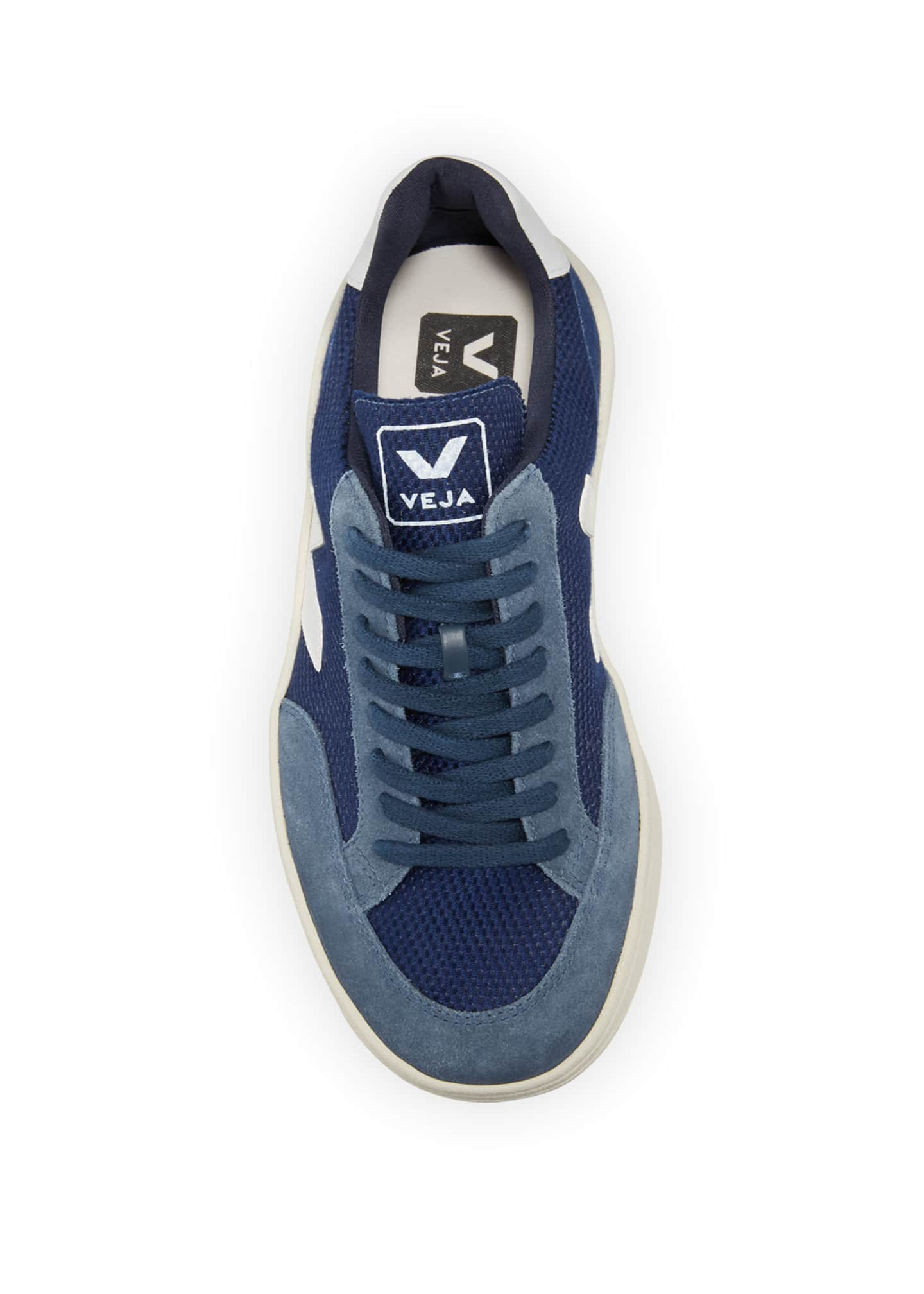 Image 3 of 3: V12 Lace-Up Mesh Sneakers