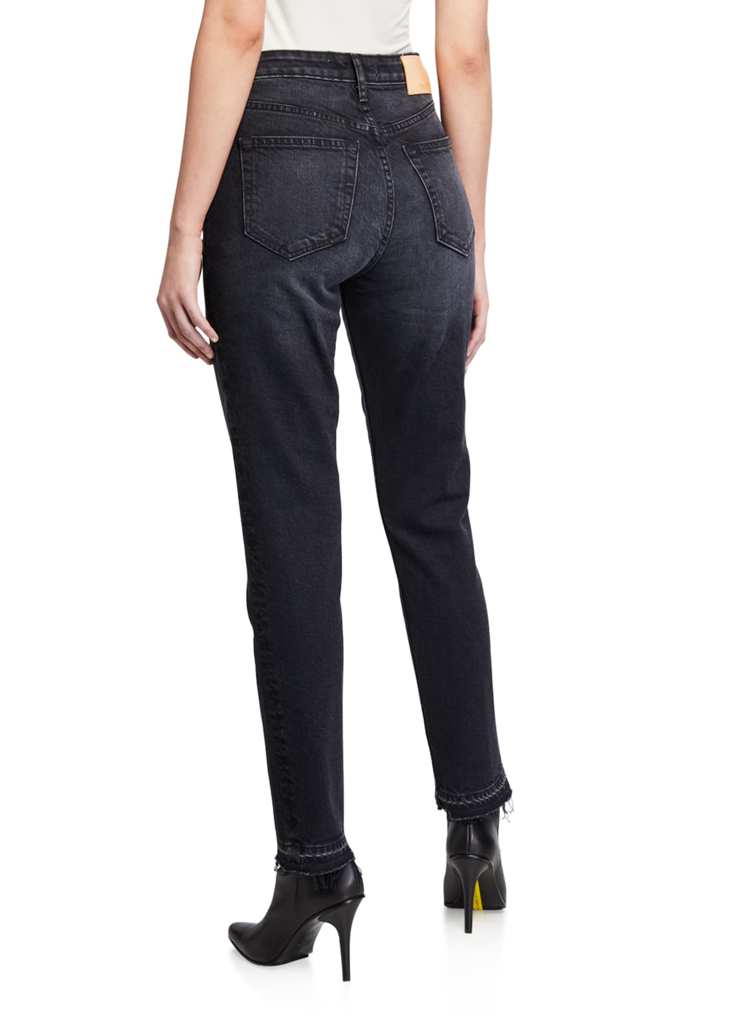Image 2 of 3: Constance High-Rise Slim Ankle Jeans