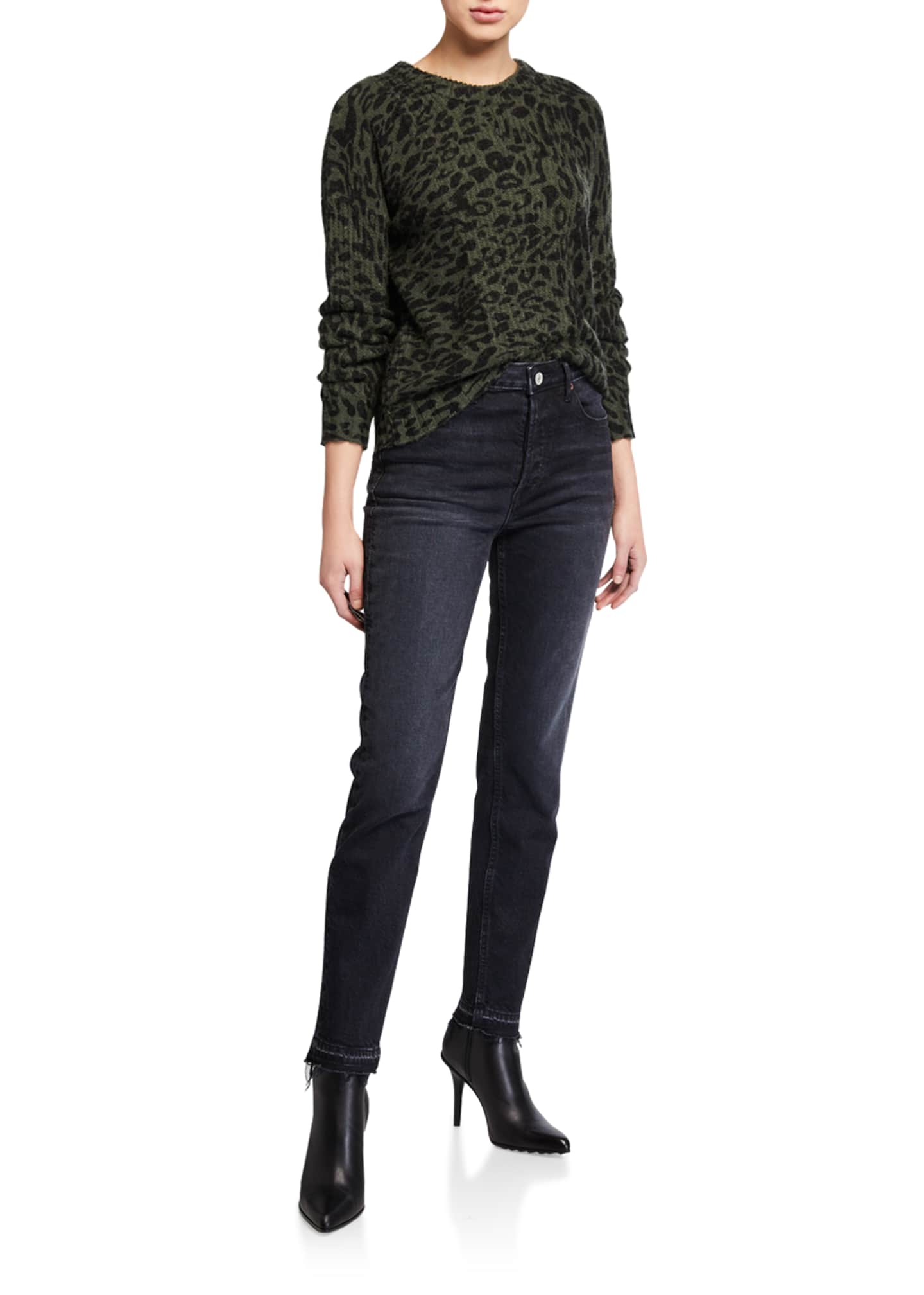 Image 3 of 3: Constance High-Rise Slim Ankle Jeans