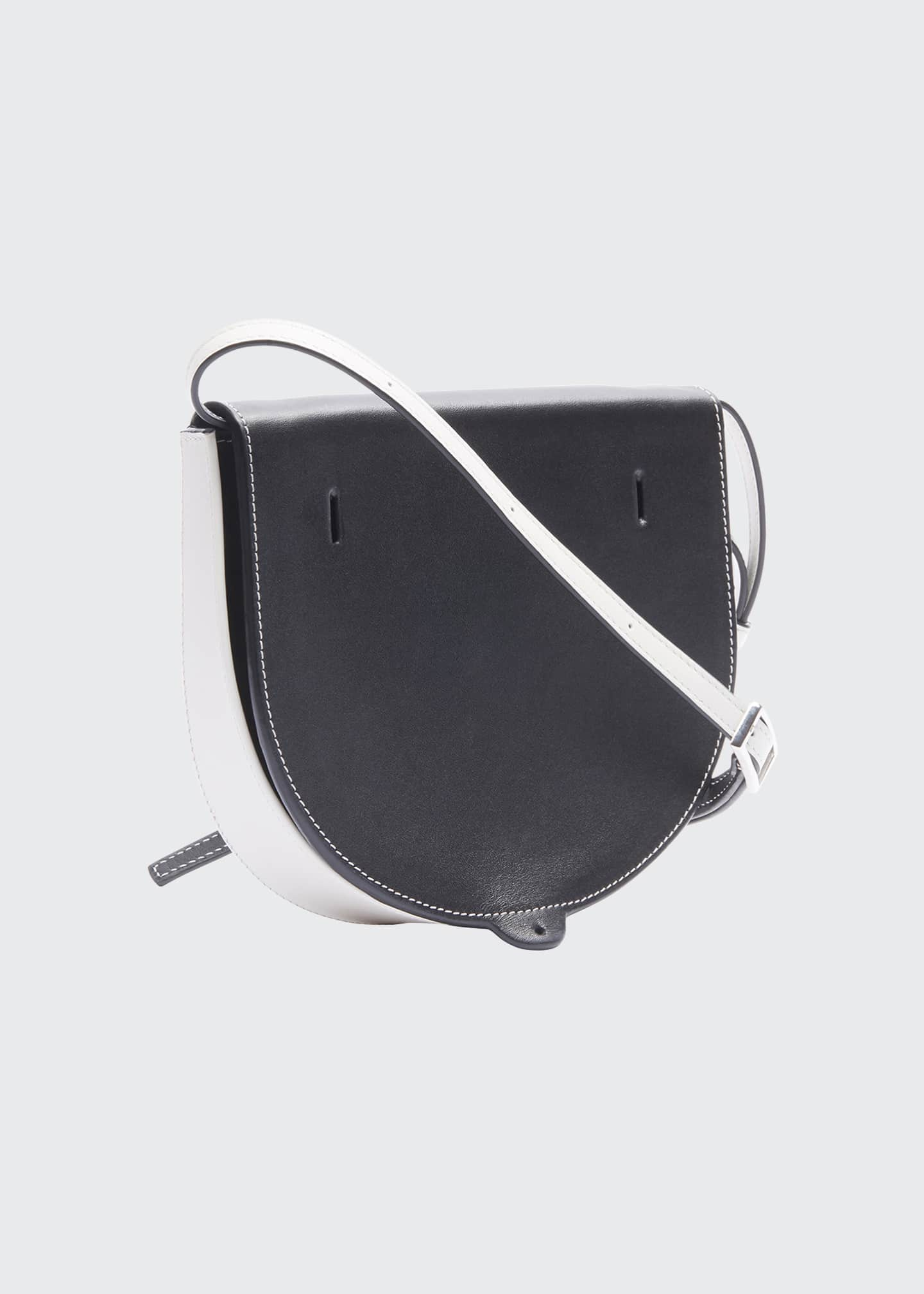 Image 2 of 2: Two-Tone Soft Crossbody Bag