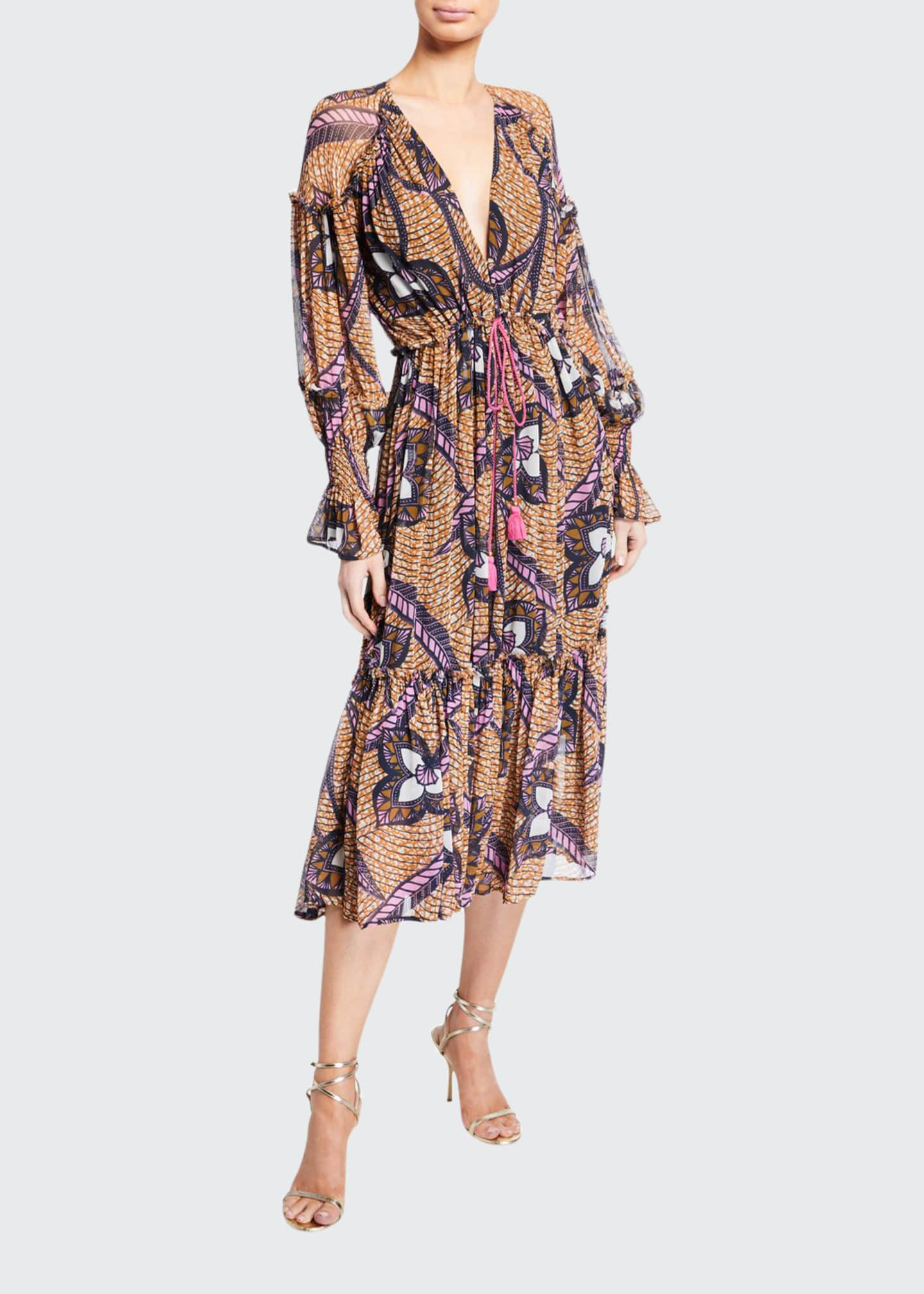 Figue Veronika Midi Dress