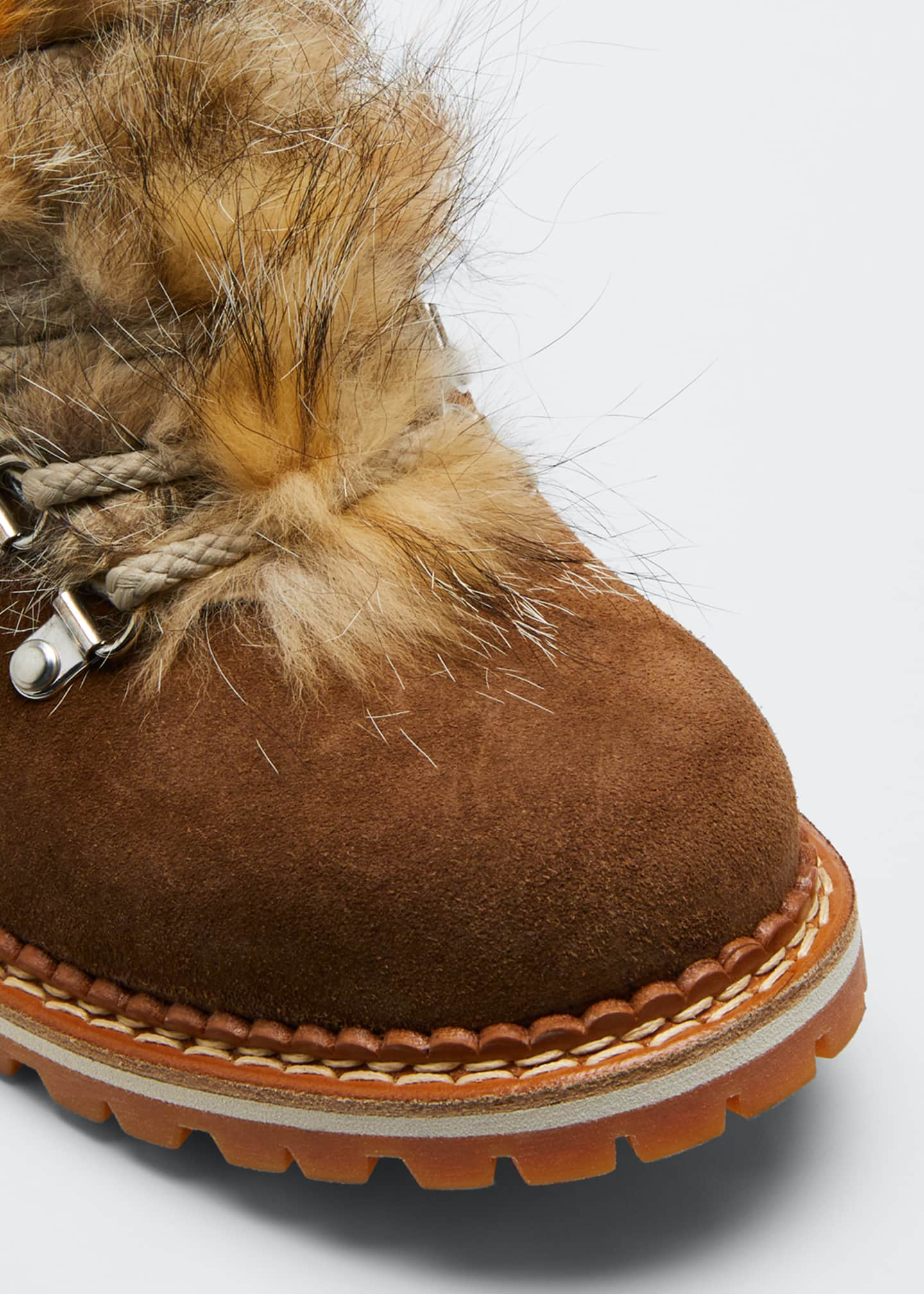 Image 5 of 5: Camelia Boots with Fox Fur