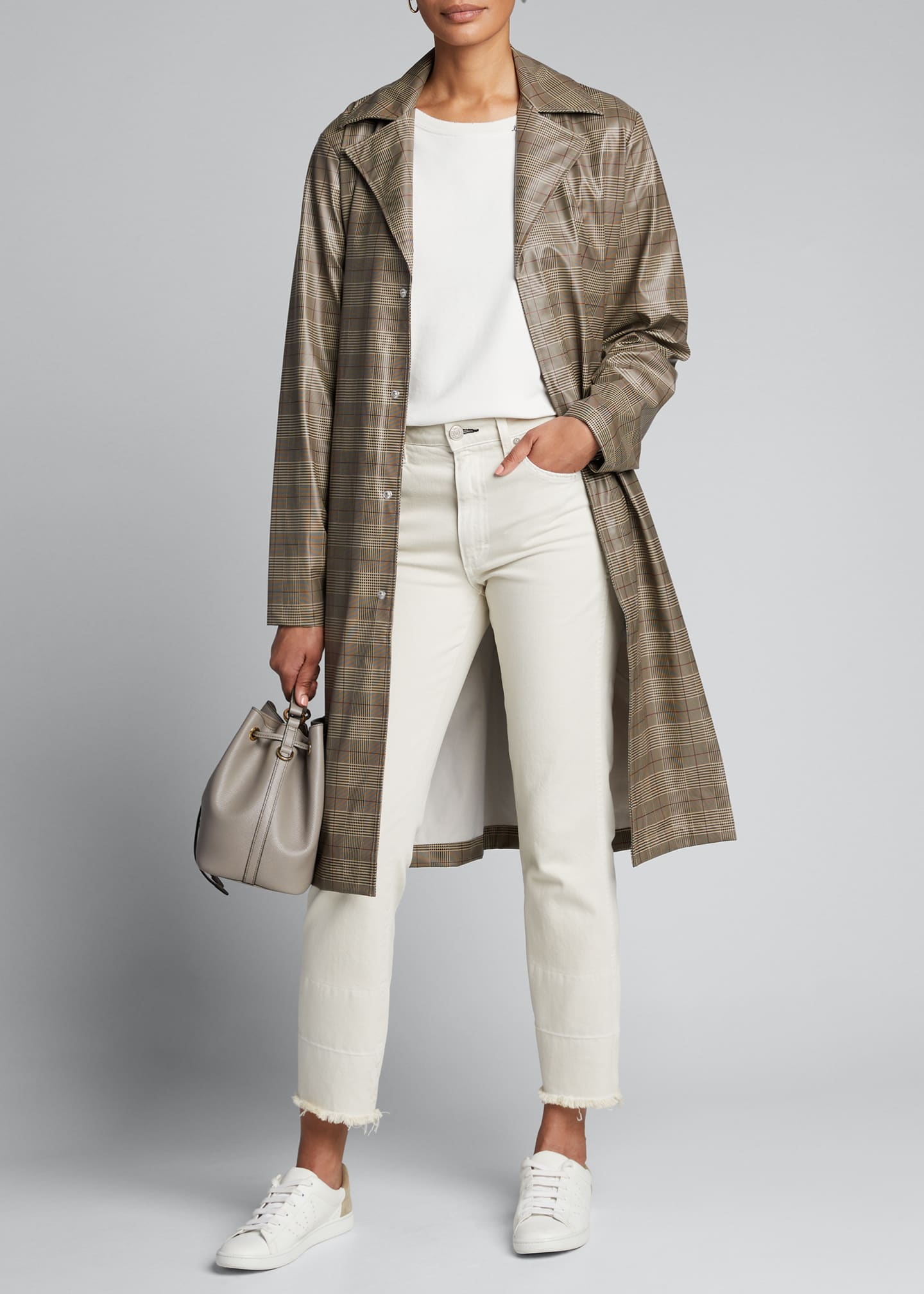Rains Check Waterproof Overcoat