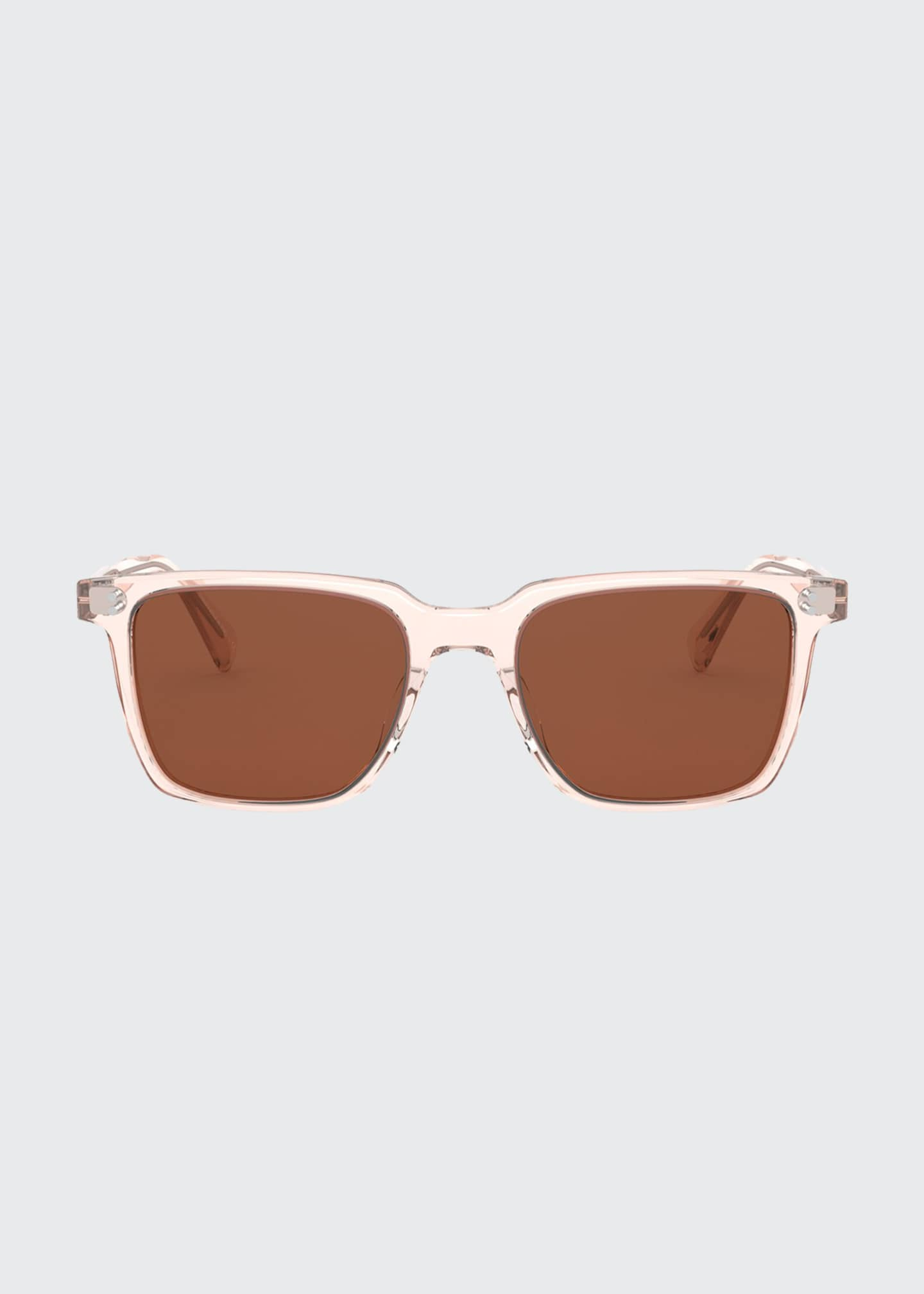 Image 2 of 2: Square Acetate Sunglasses