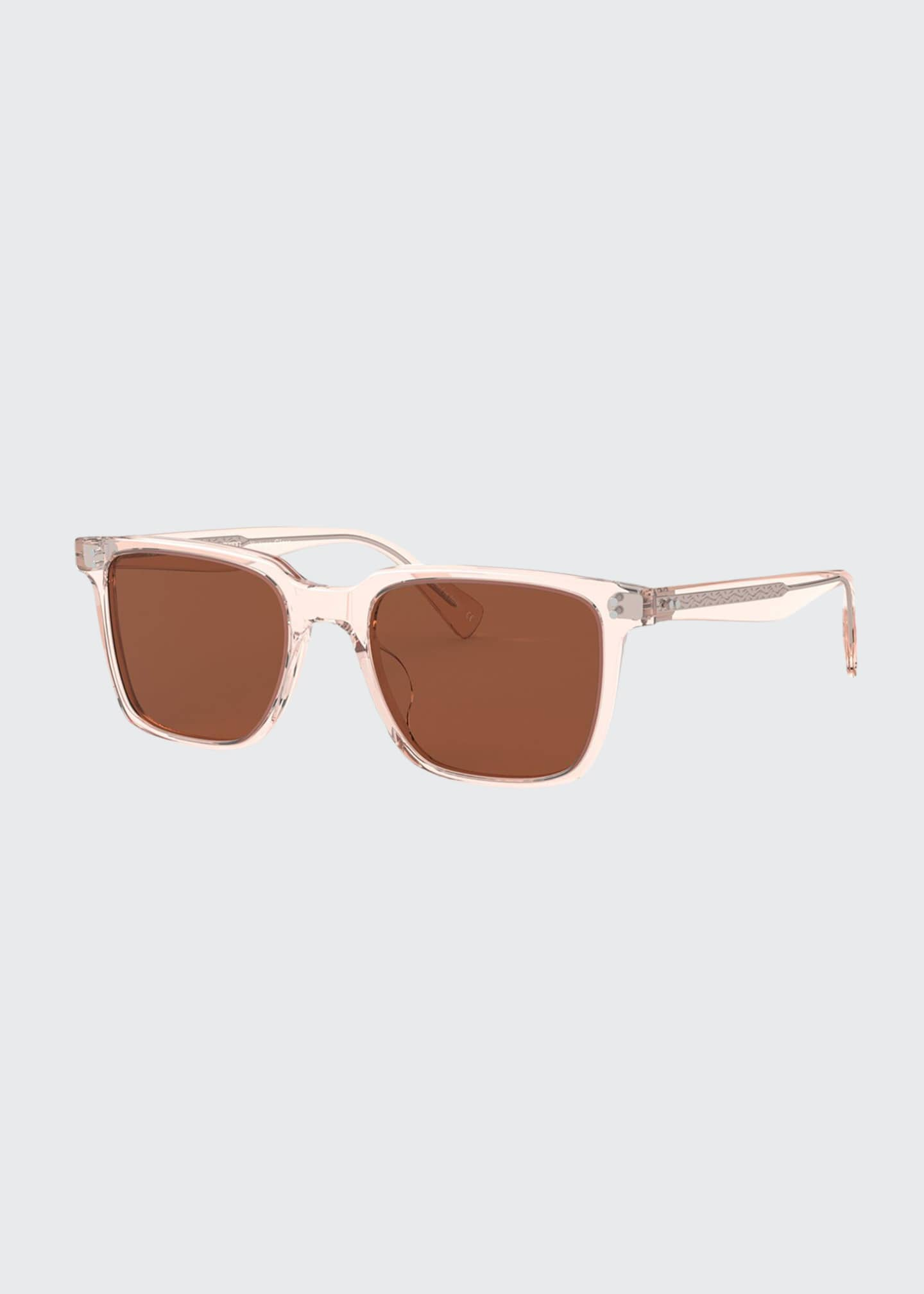 Image 1 of 2: Square Acetate Sunglasses