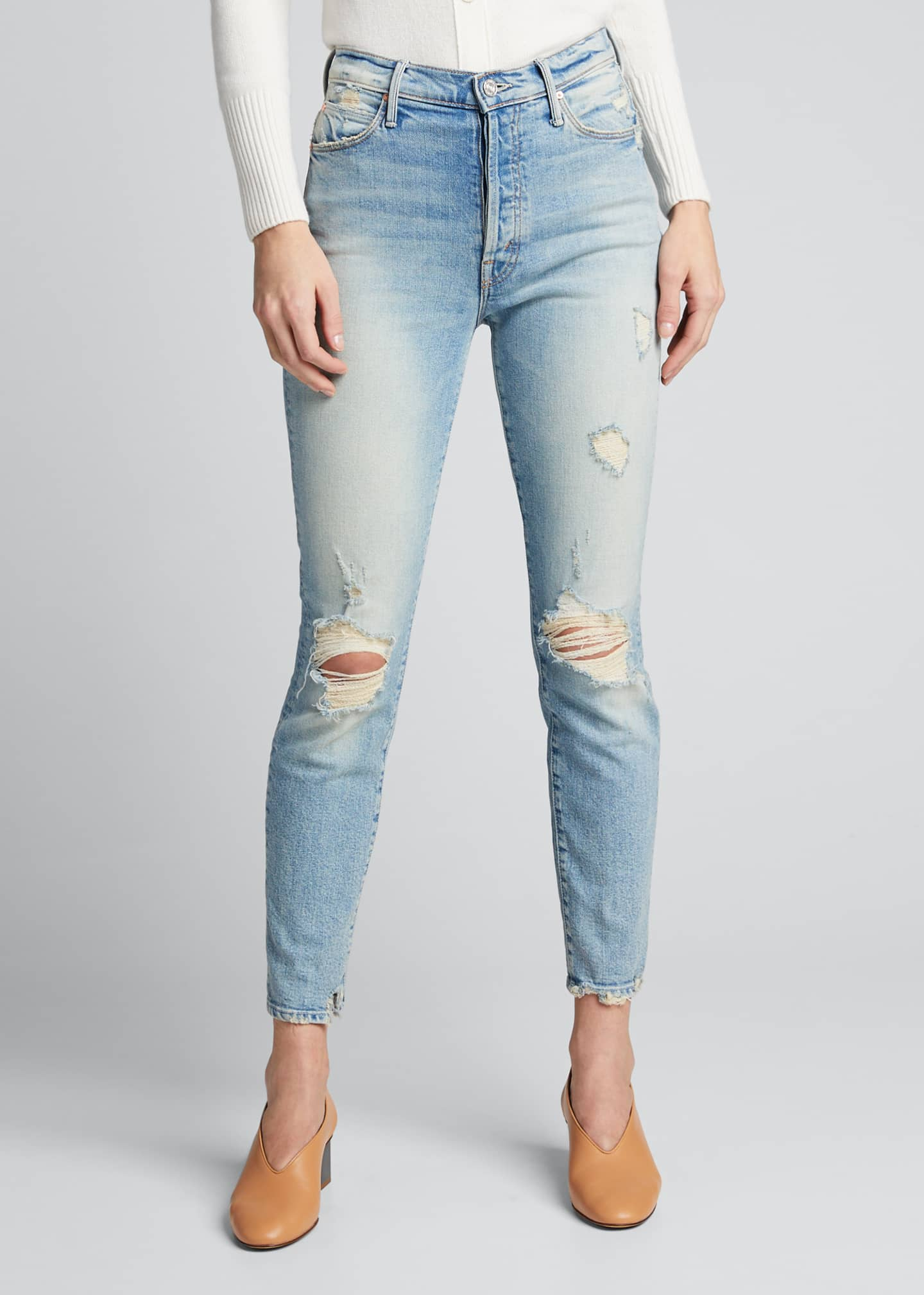 Image 3 of 5: The Super Stunner Ankle Skinny Jeans