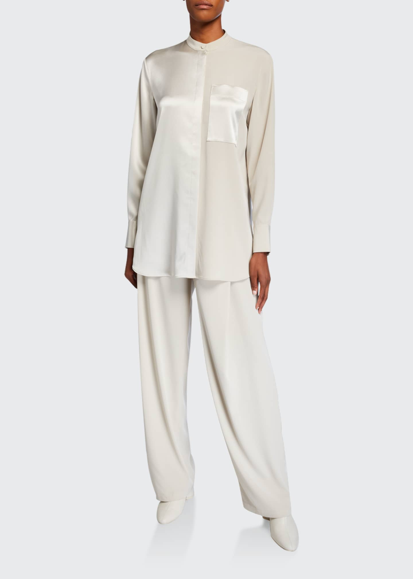 Image 1 of 3: Relaxed Leg Trousers