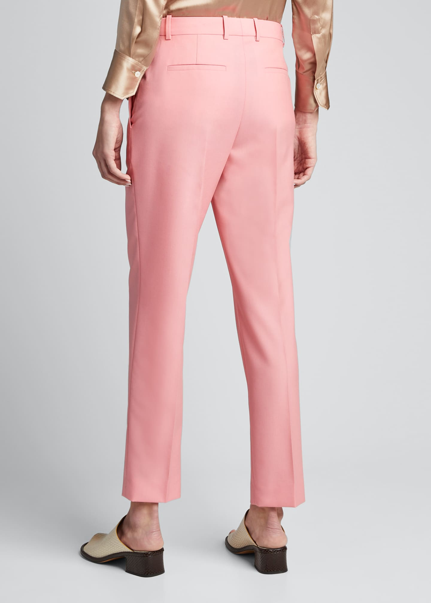 Image 2 of 5: Wool Cigarette Trousers