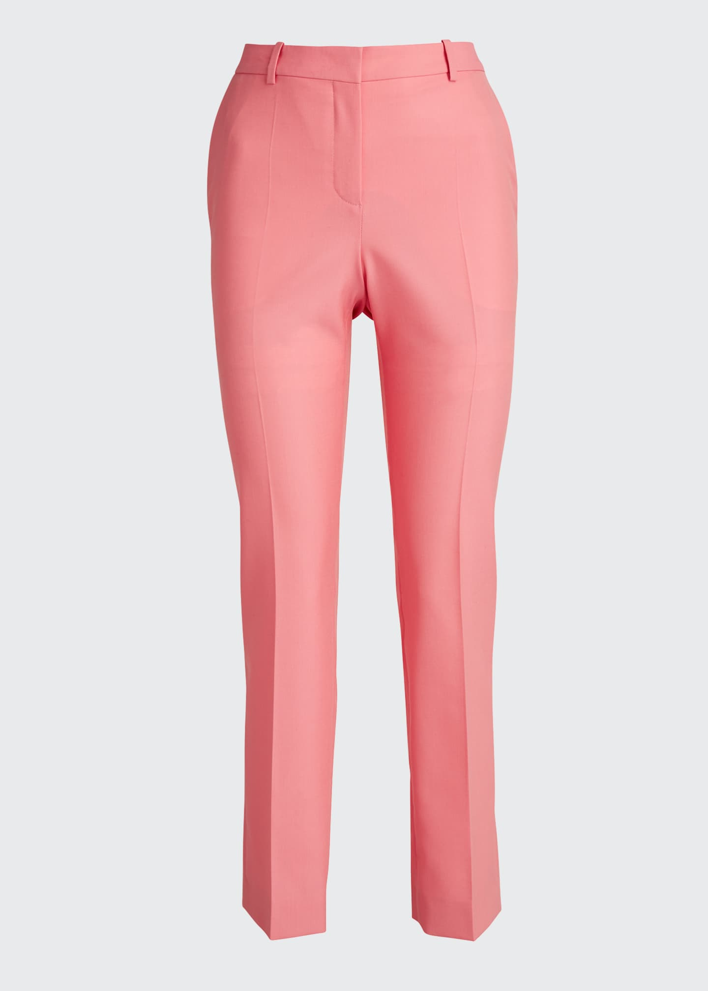 Image 5 of 5: Wool Cigarette Trousers