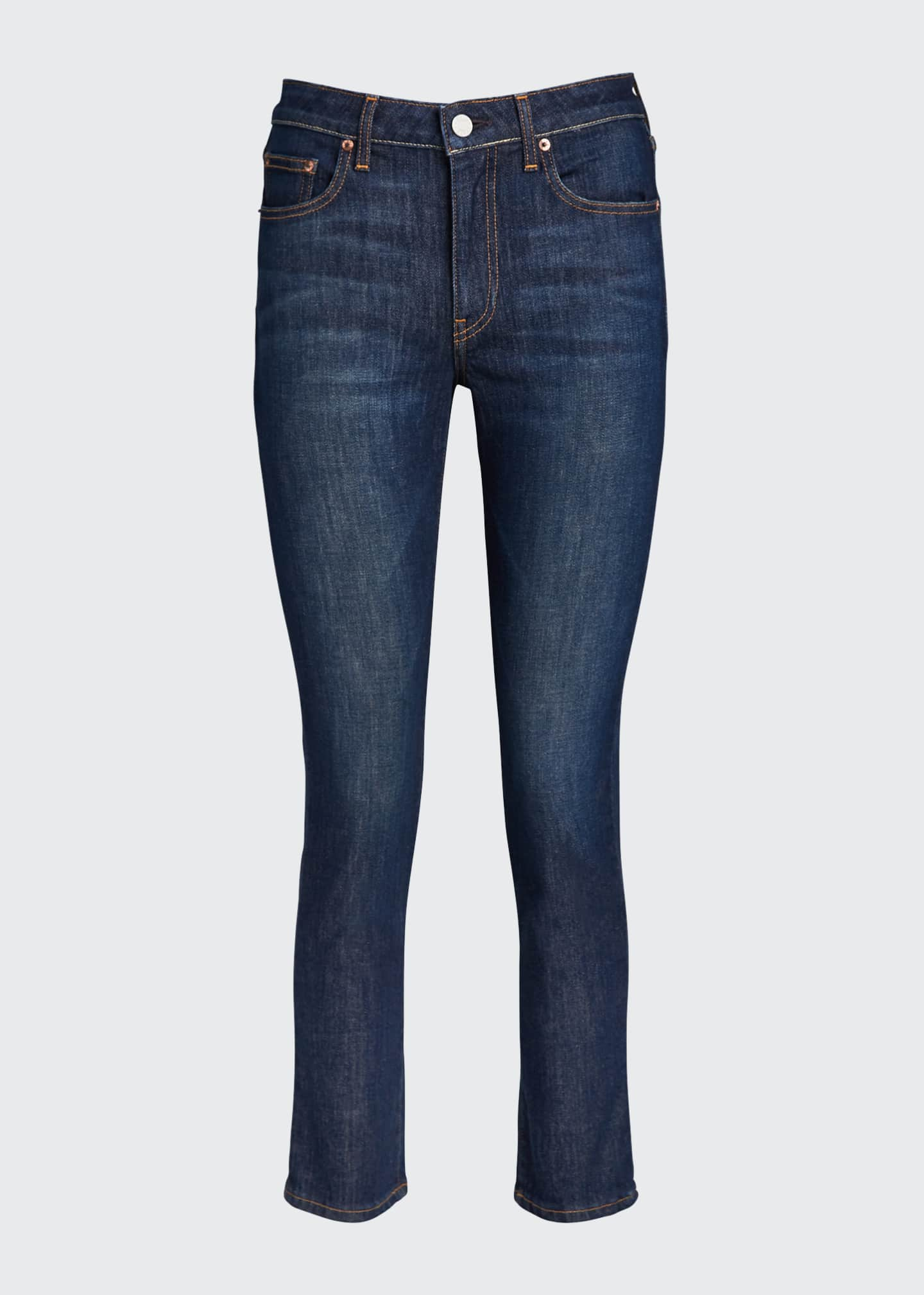 Image 5 of 5: Irina Cropped Straight-Leg Jeans