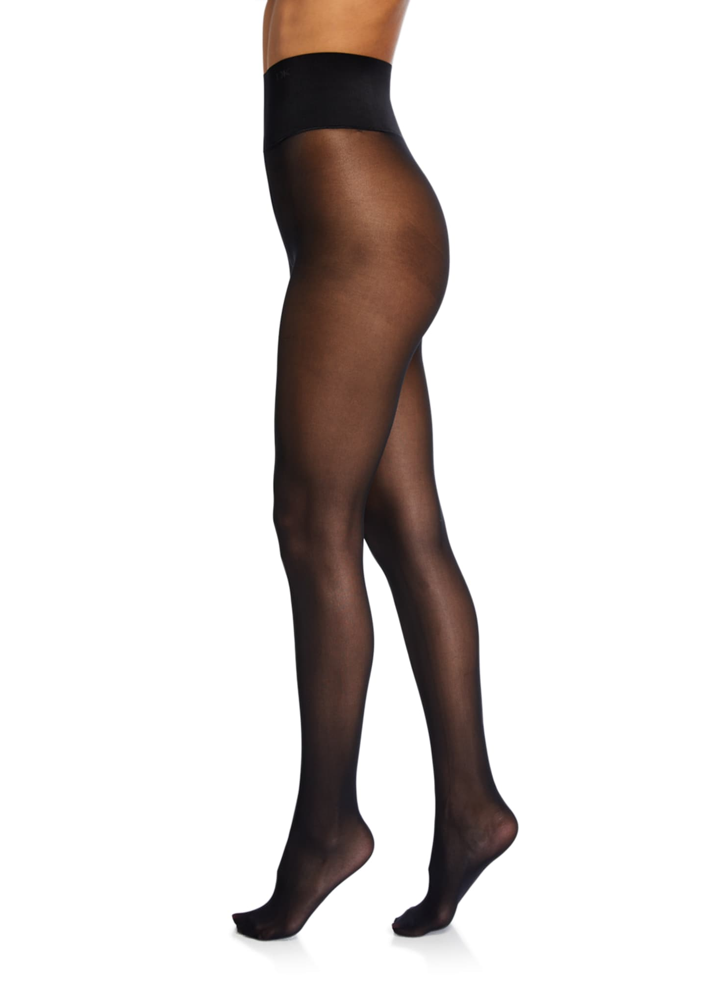 Donna Karan Luxe Opaque Waist-Smoothing Tights