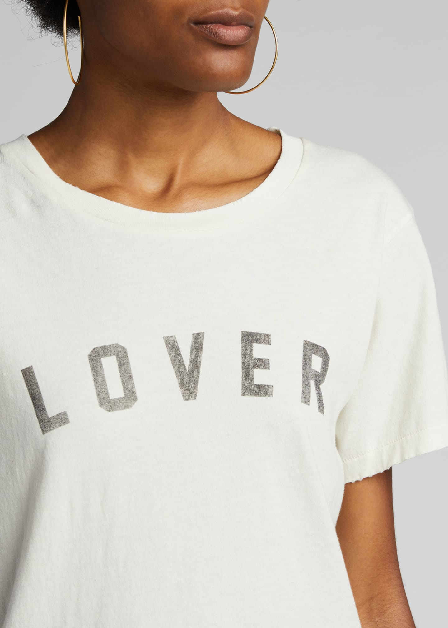 Image 4 of 5: Lover Classic Graphic Tee