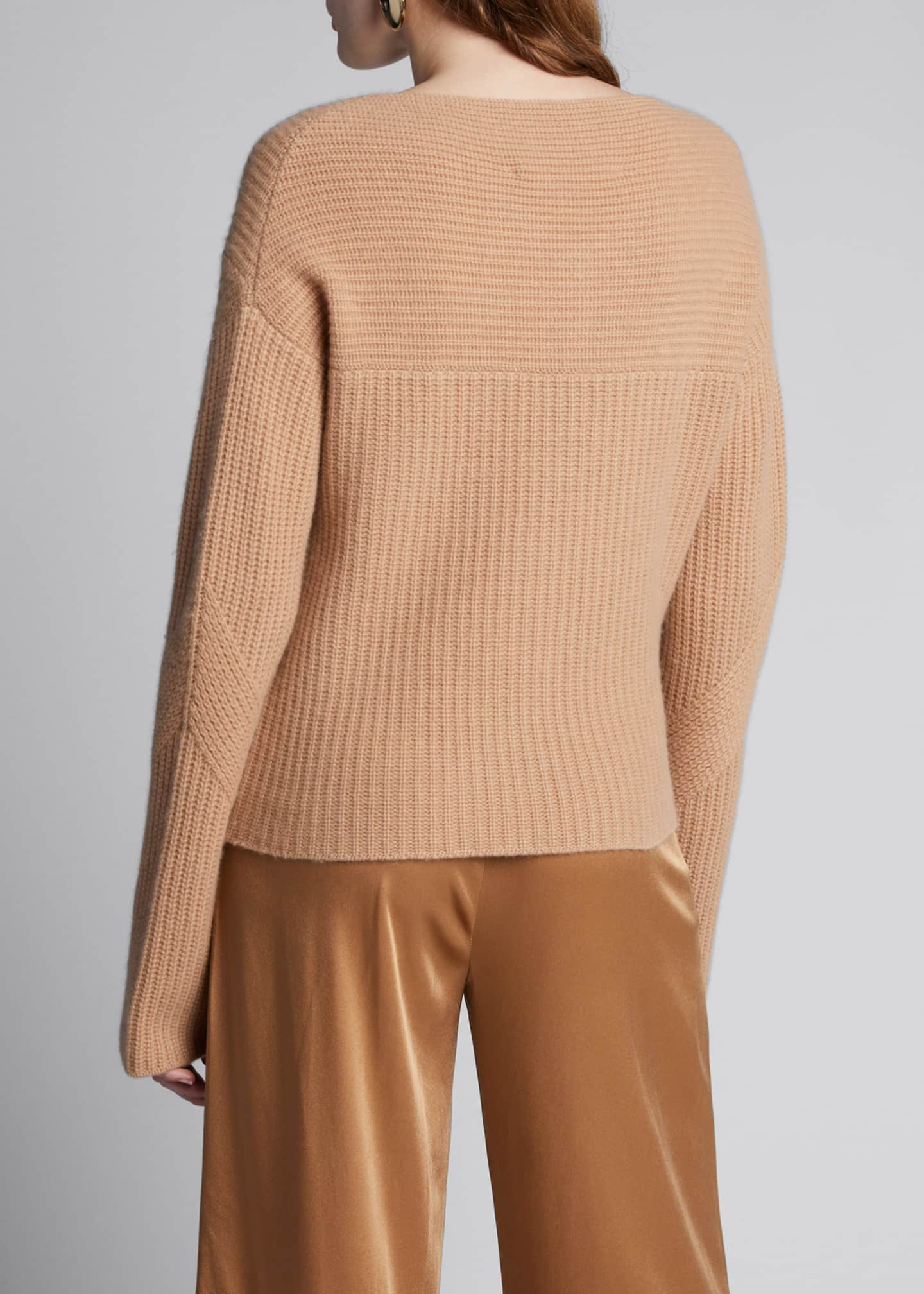 Image 2 of 5: Cashmere V-Neck Sweater