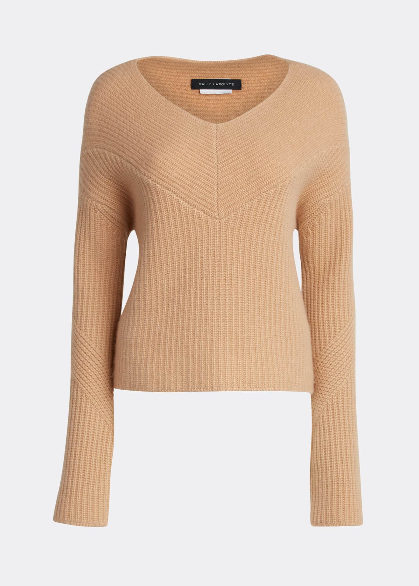 Image 5 of 5: Cashmere V-Neck Sweater