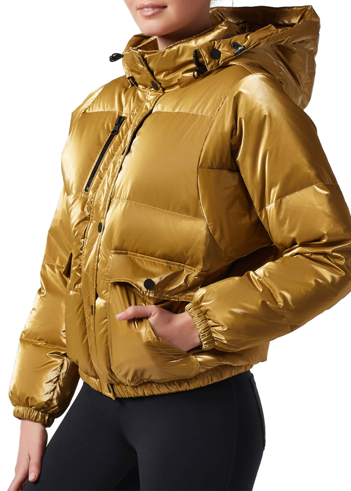 Image 2 of 4: Mont Blanc Hooded Puffer Jacket
