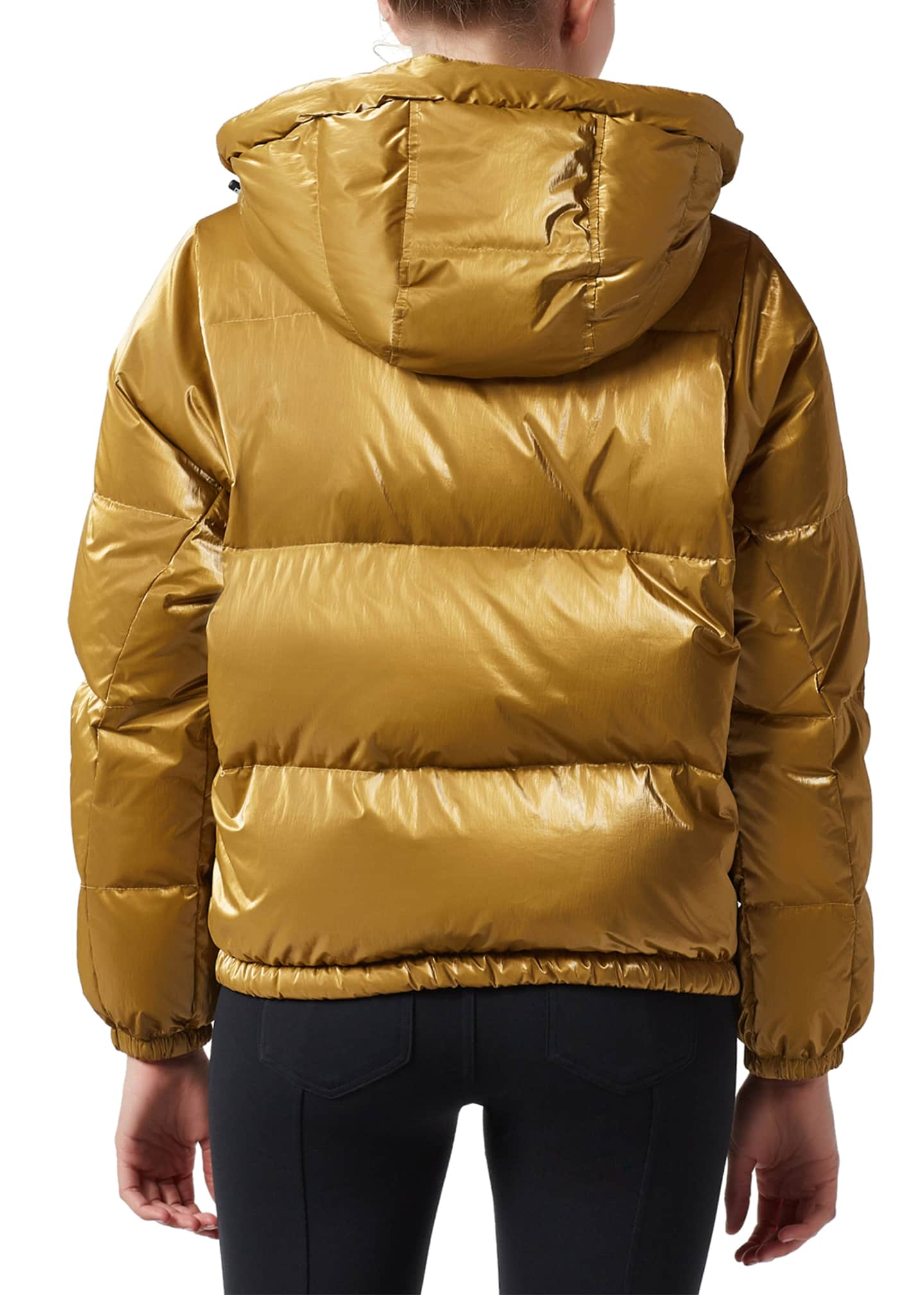 Image 3 of 4: Mont Blanc Hooded Puffer Jacket