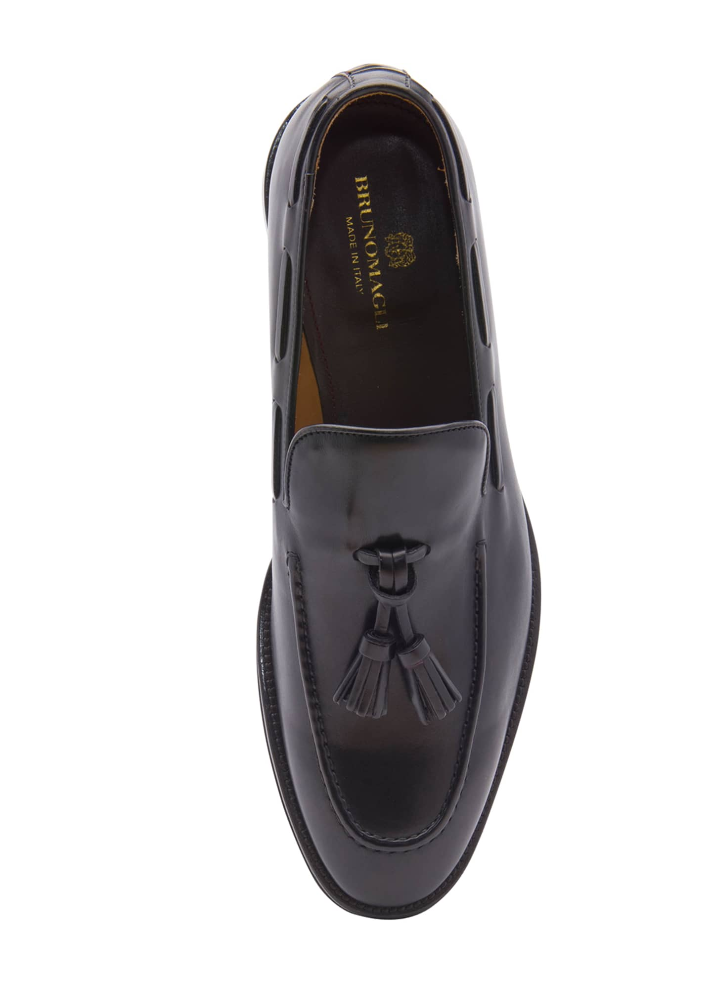 Image 2 of 5: Men's Alfio Leather Tassel Loafers