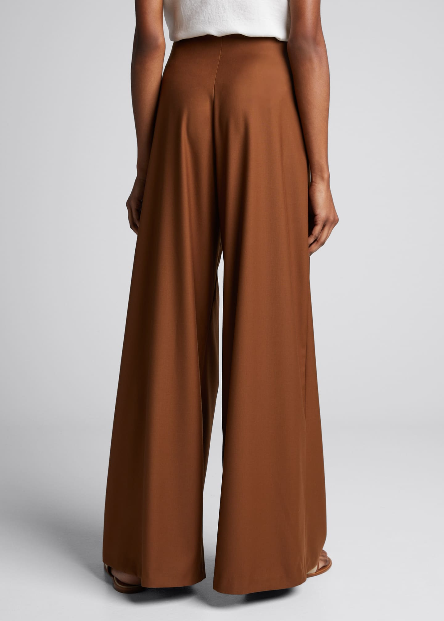 Image 2 of 5: Marcel Pleated Wide-Leg Pants