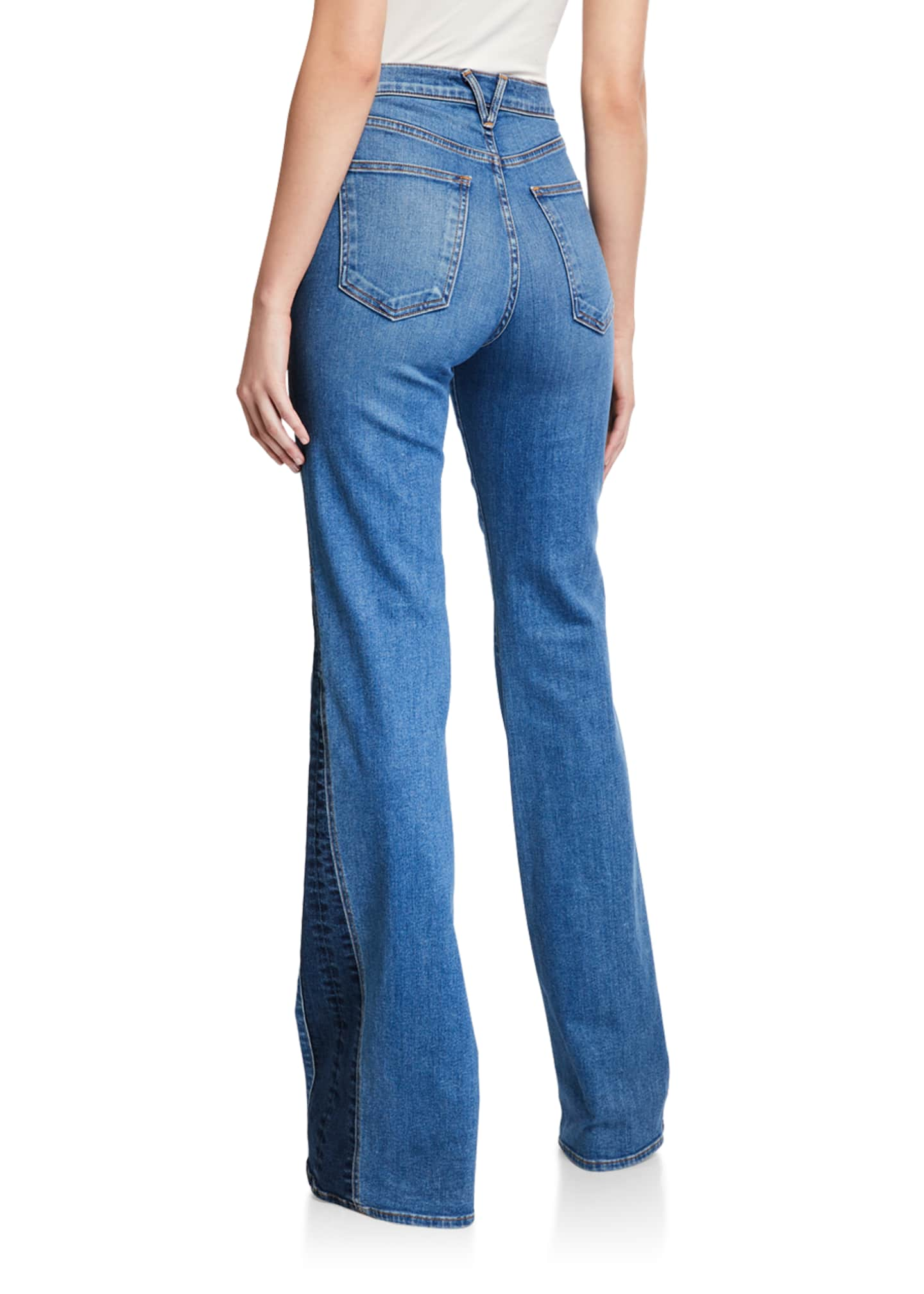 Image 2 of 3: Kiley High-Rise Wide-Leg Jeans