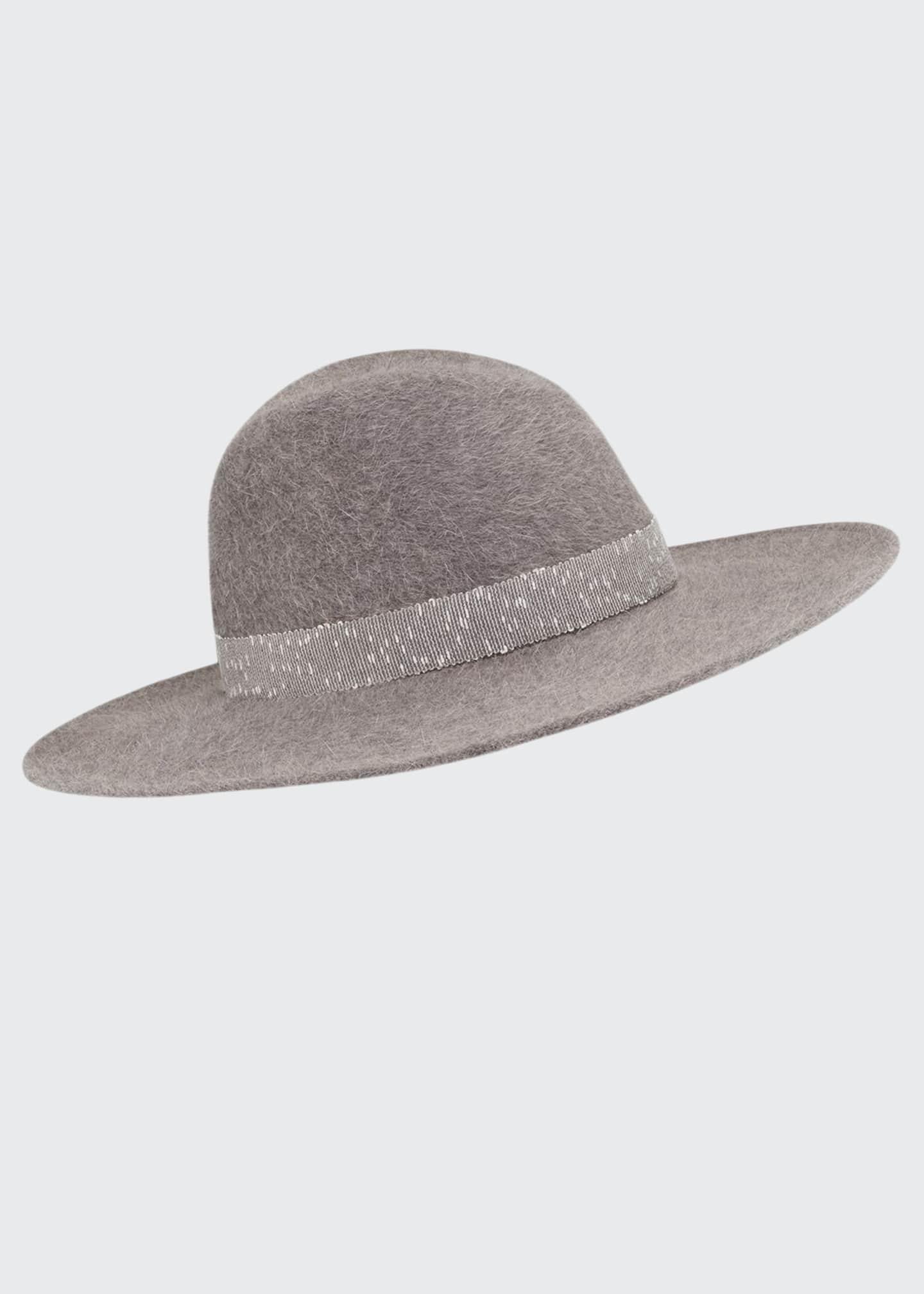 Gigi Burris Jeanne Salome Felt Fedora Hat