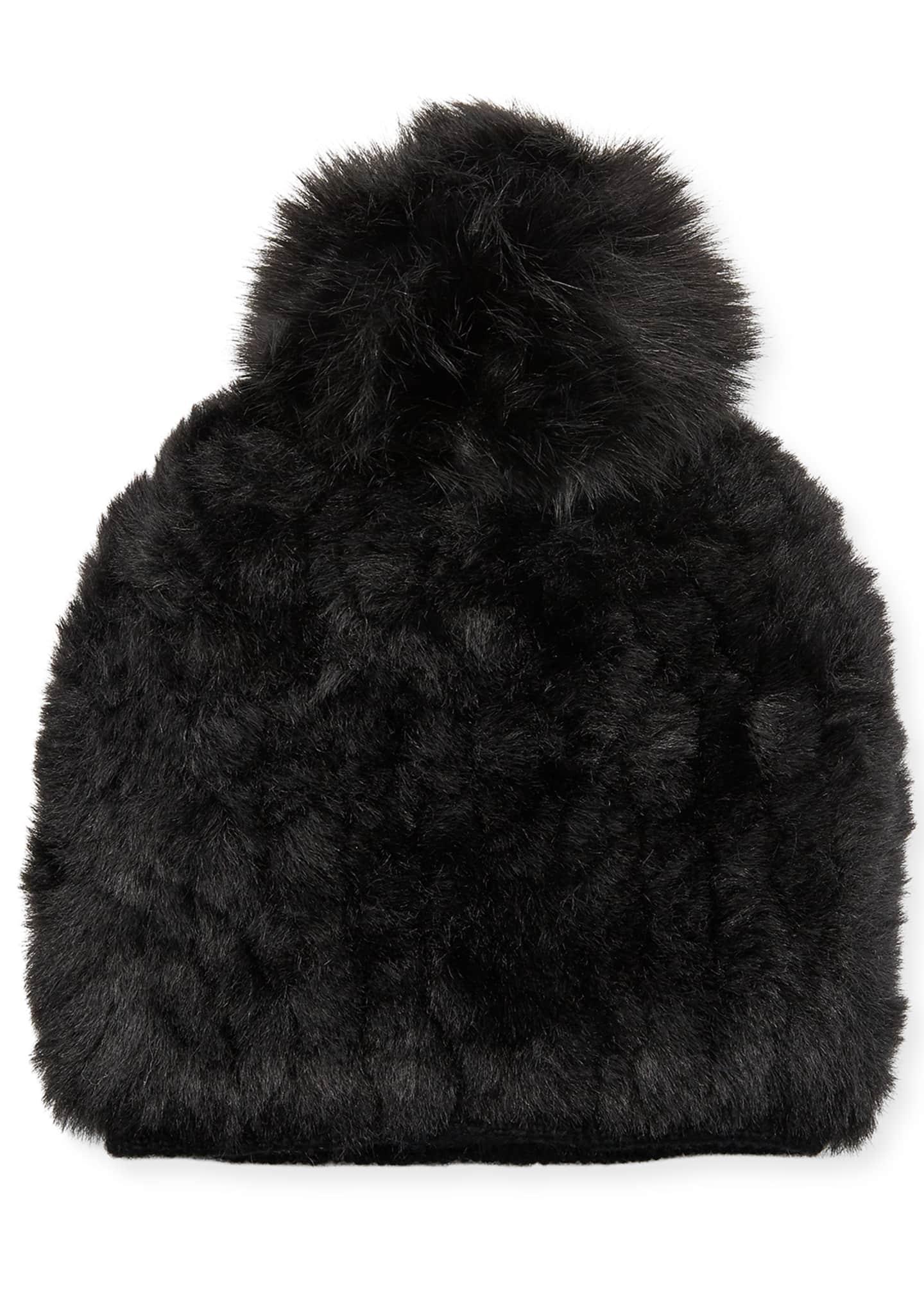 Pia Rossini Faux Fur Beanie Hat