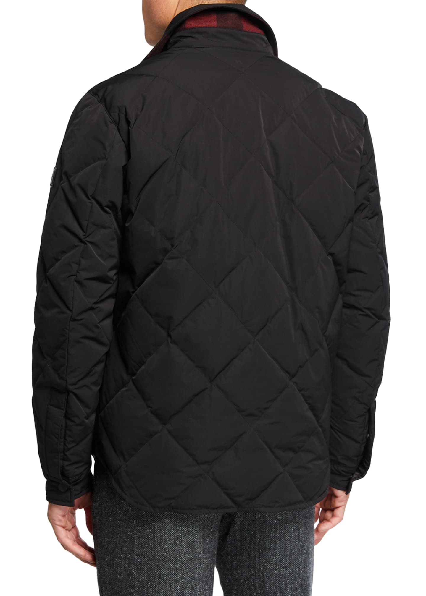 Image 4 of 4: Men's Rowland Reversible Quilted Shirt Jacket