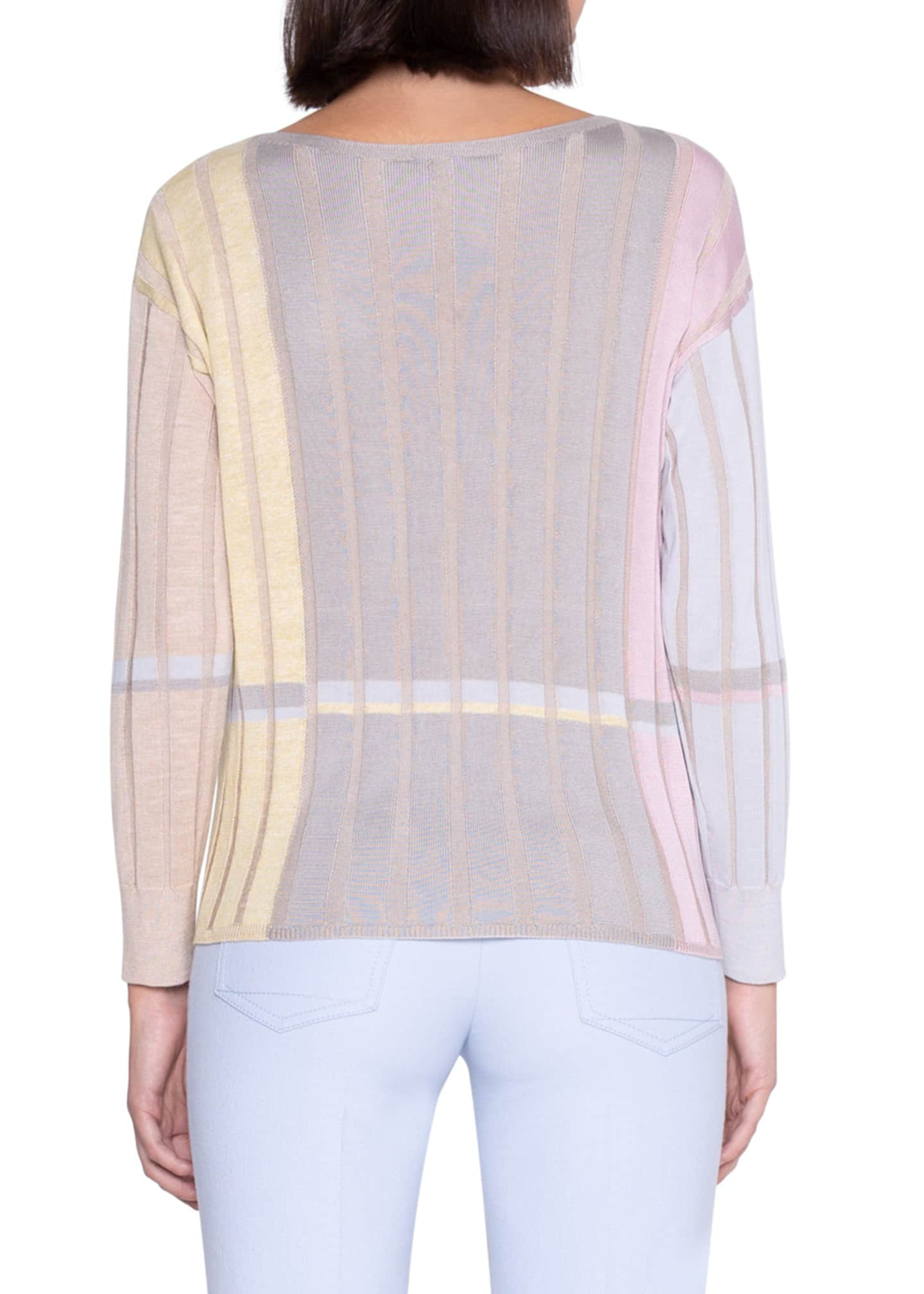 Image 2 of 3: Variazoni Silk-Linen Sweater