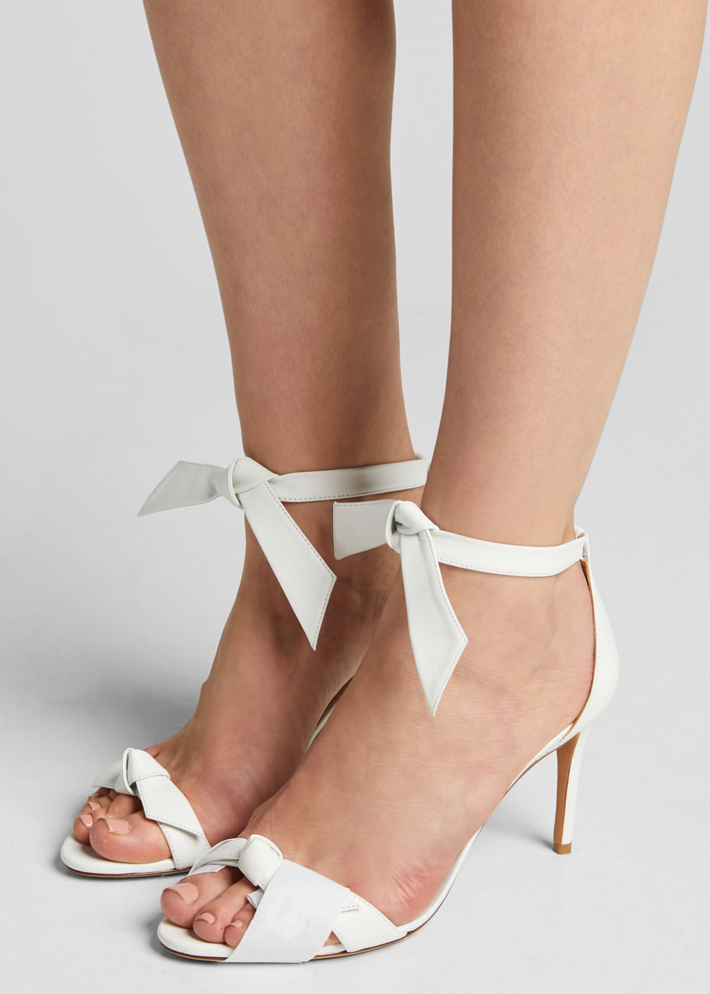 Image 2 of 5: Clarita Tie Leather Sandals