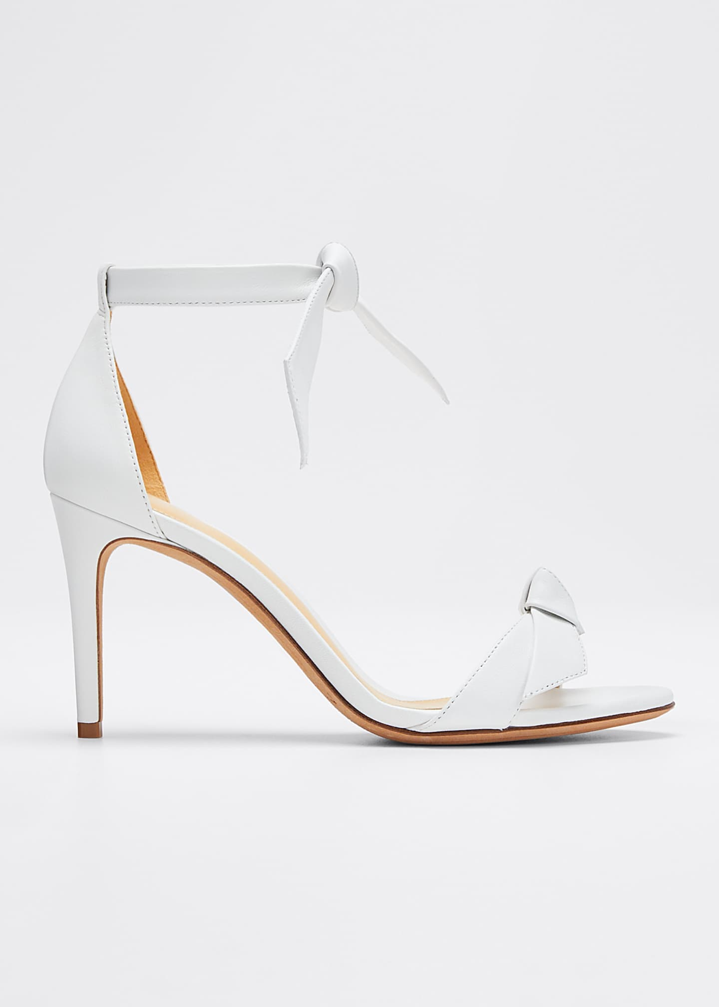 Image 1 of 5: Clarita Tie Leather Sandals
