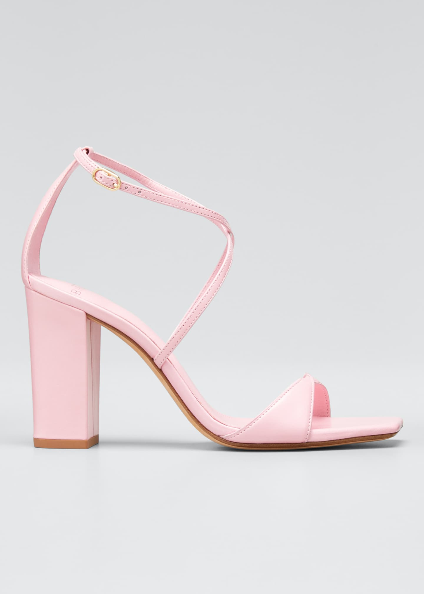 Alexandre Birman Miki Leather Ankle Sandals