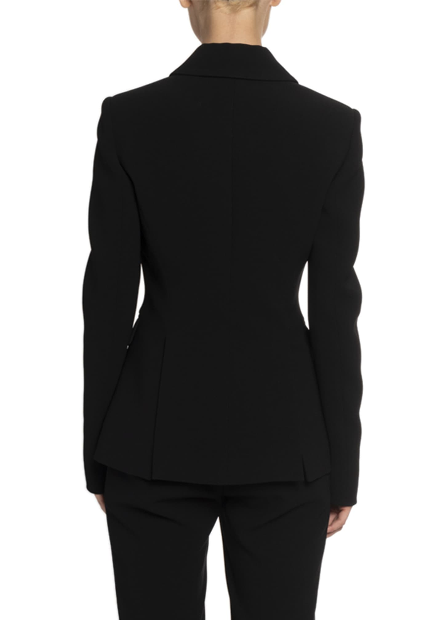 Image 2 of 2: Crepe Two-Button Blazer