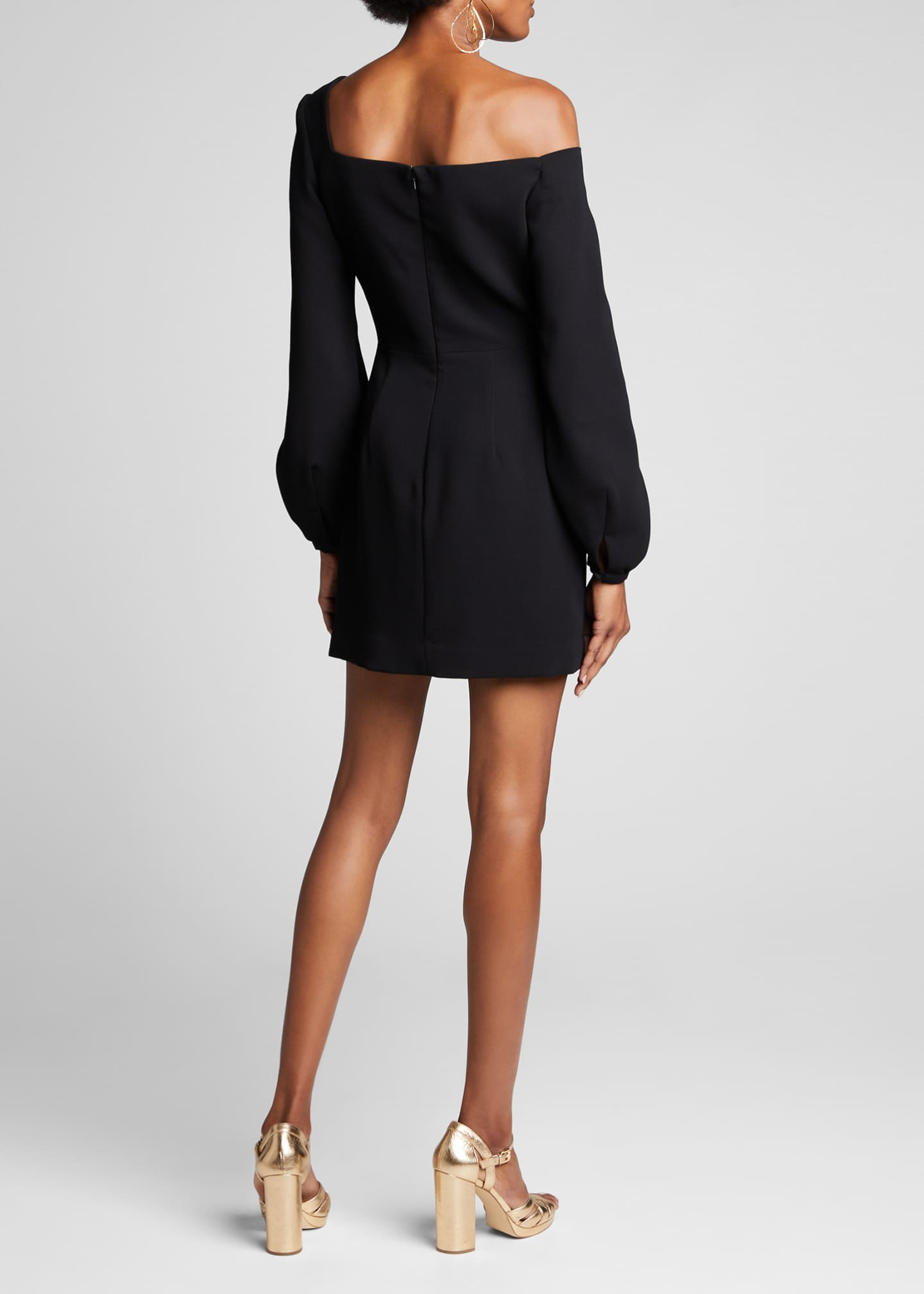 Image 2 of 4: One-Shoulder Jersey Bodycon Dress