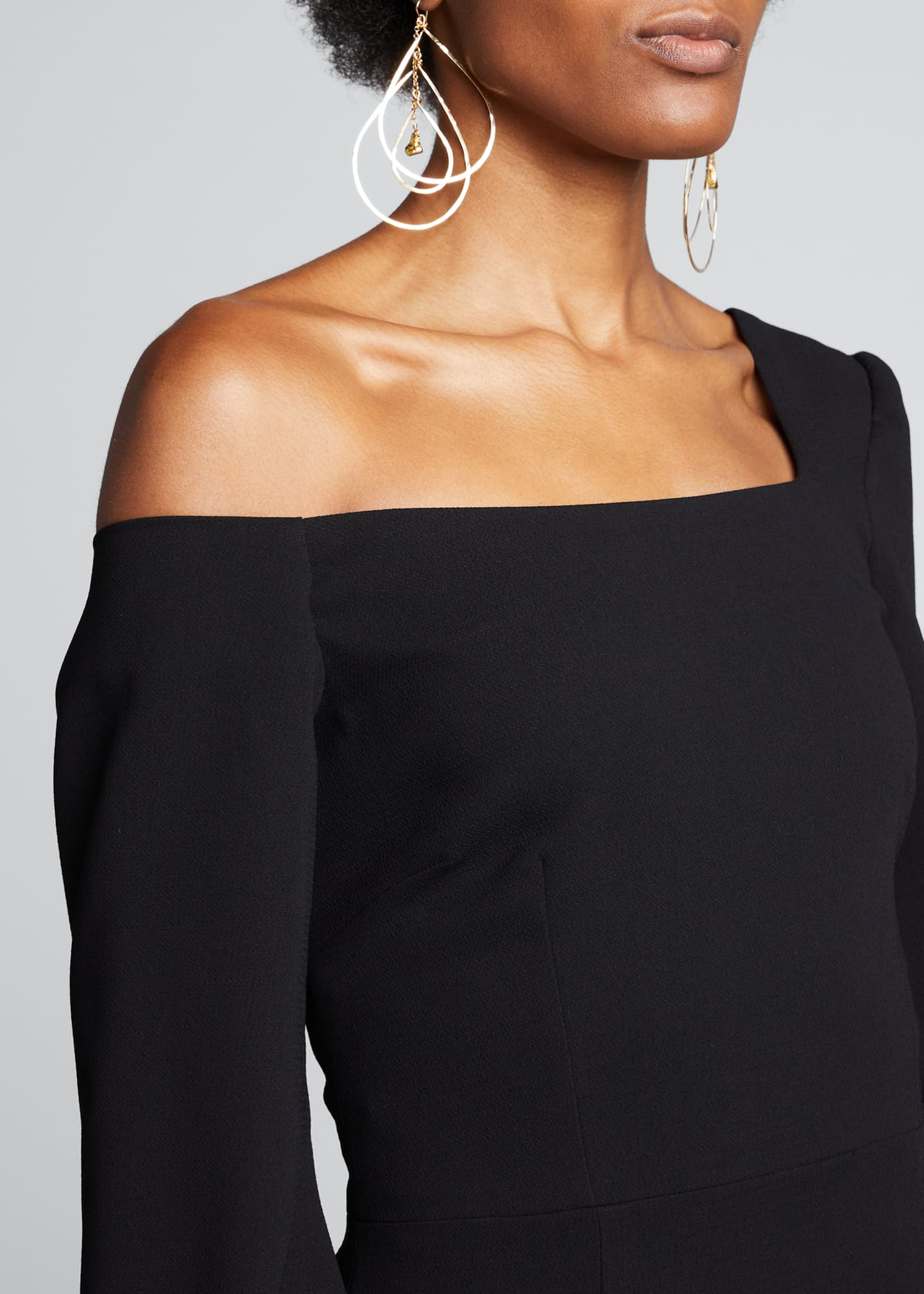 Image 4 of 4: One-Shoulder Jersey Bodycon Dress