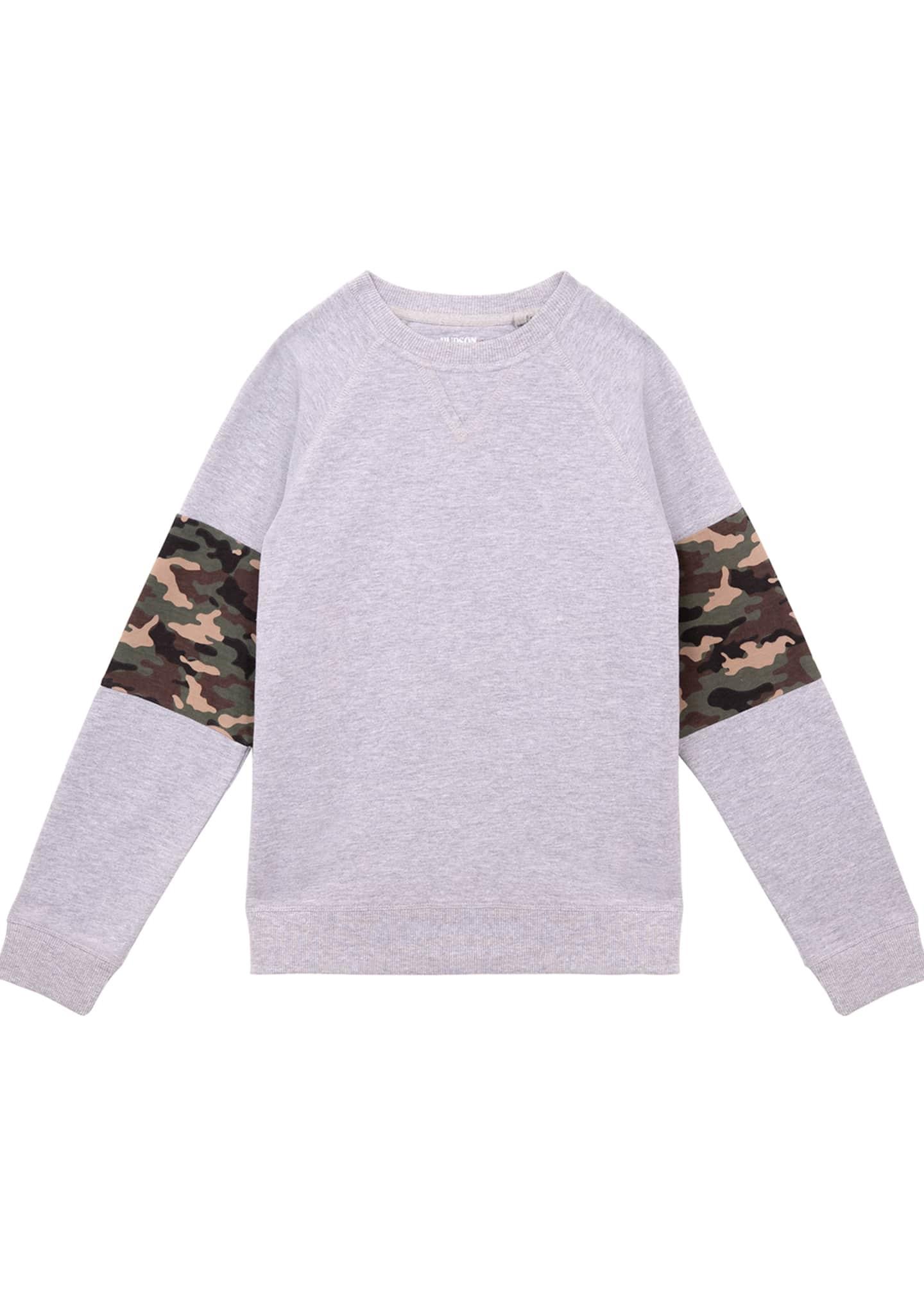 Hudson Boys' Zev Crewneck Pullover, Size S-XL