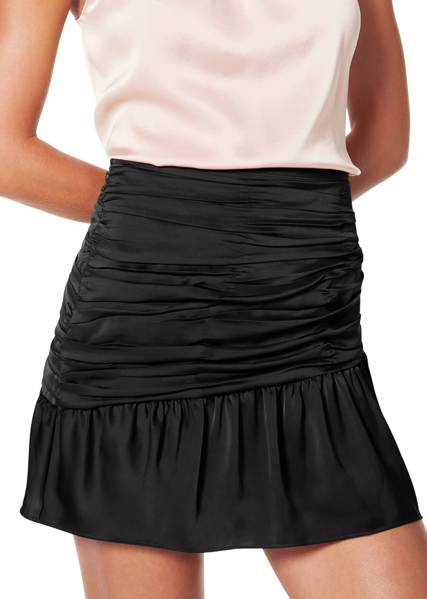 Image 2 of 3: Mini Ruched Short Skirt