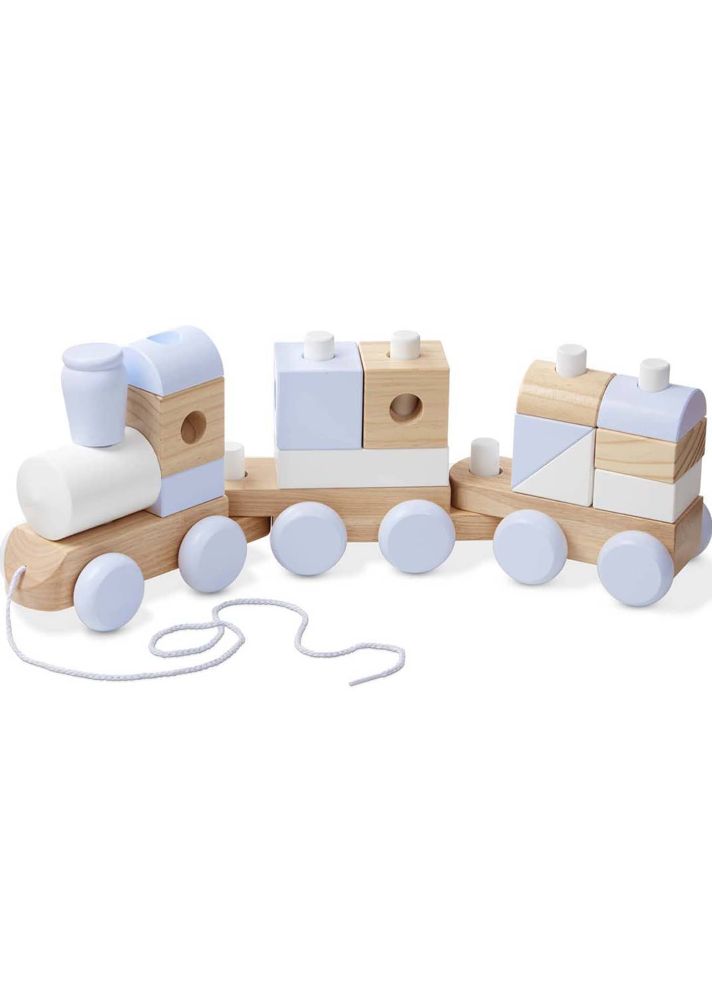 Melissa & Doug Jumbo Stacking Train Toy Set