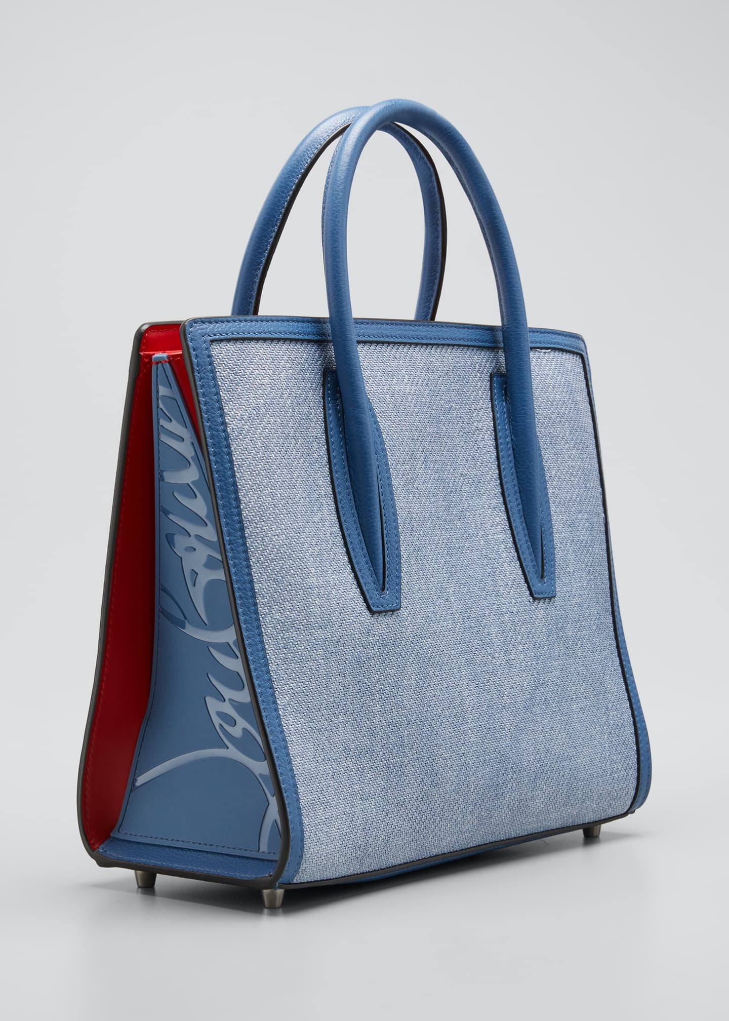Image 3 of 5: Paloma Medium Empire Canvas Tote Bag
