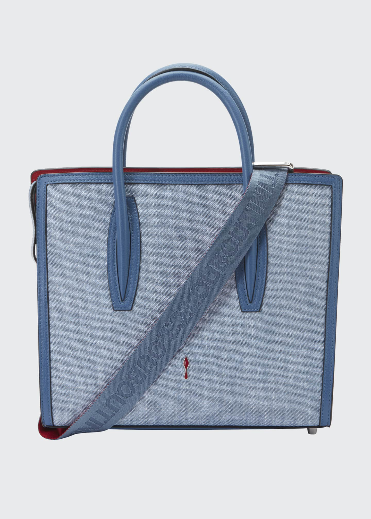 Image 1 of 5: Paloma Medium Empire Canvas Tote Bag