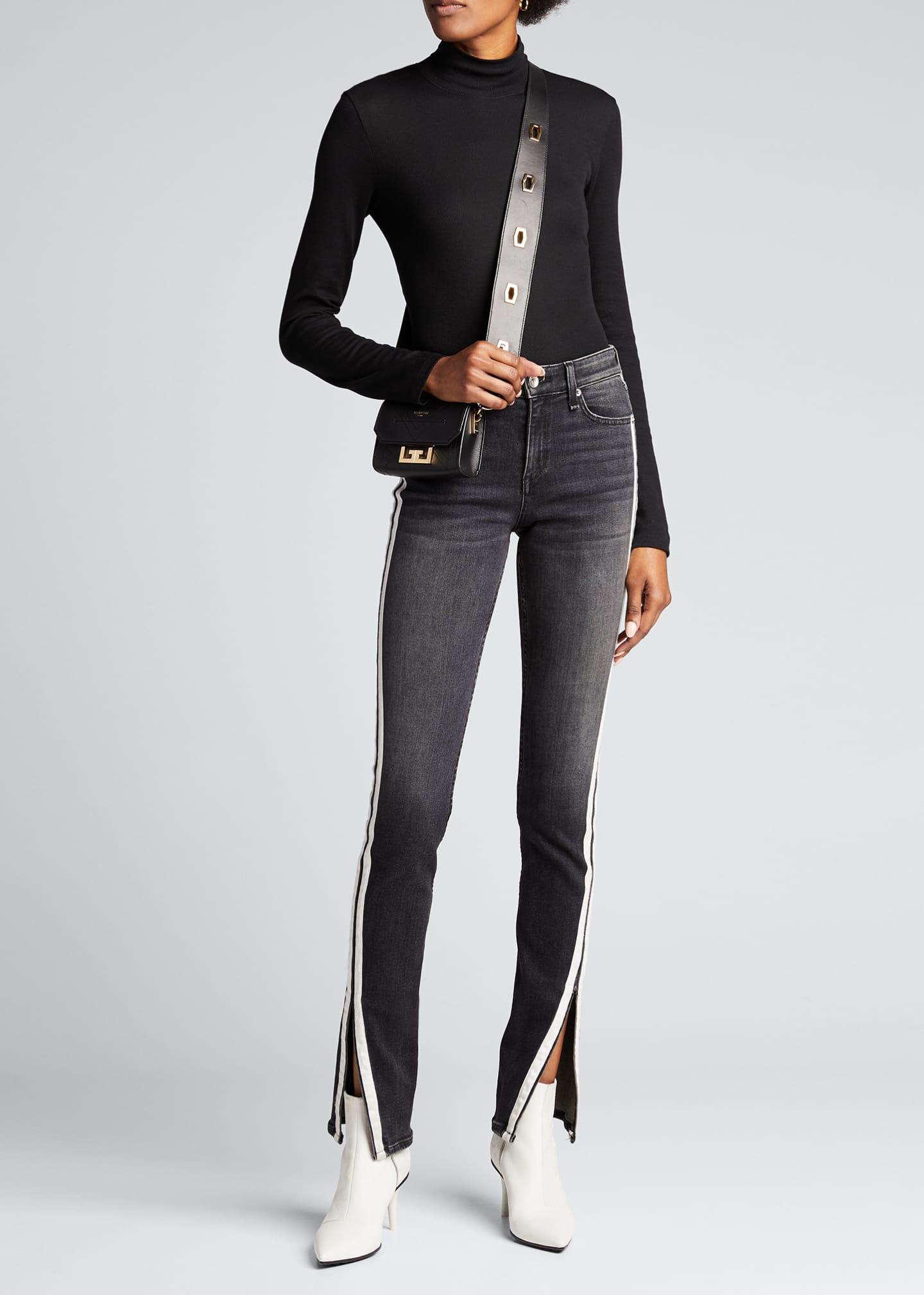 Rag & Bone Cate Mid-Rise Flare Jeans