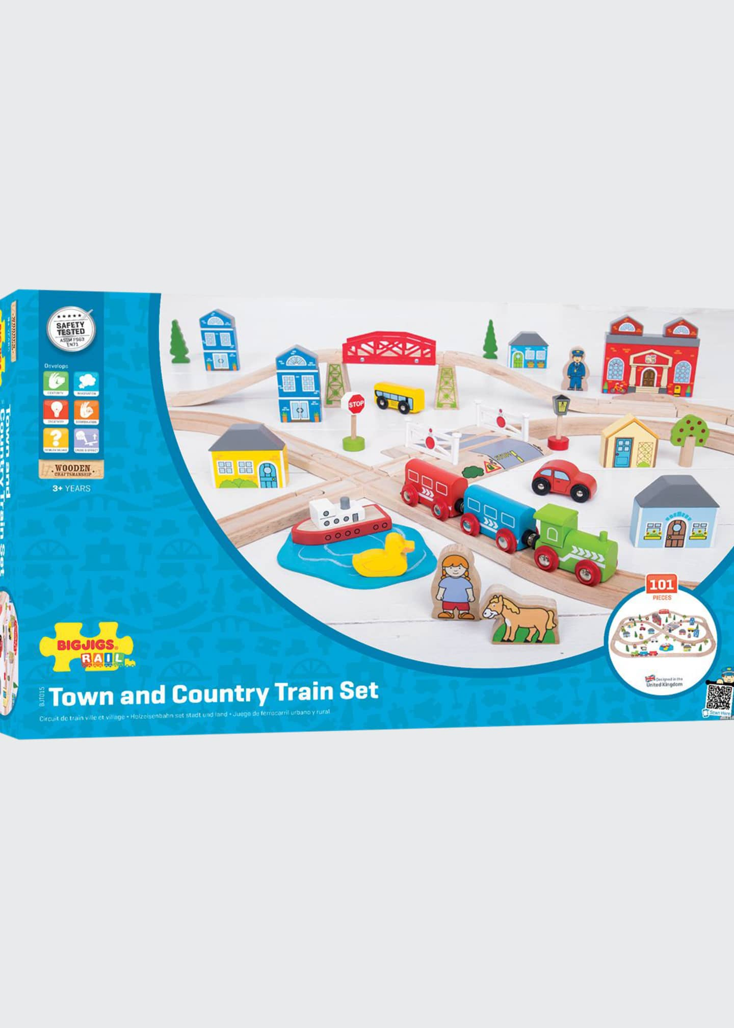 Image 1 of 2: Town and Country Train Set