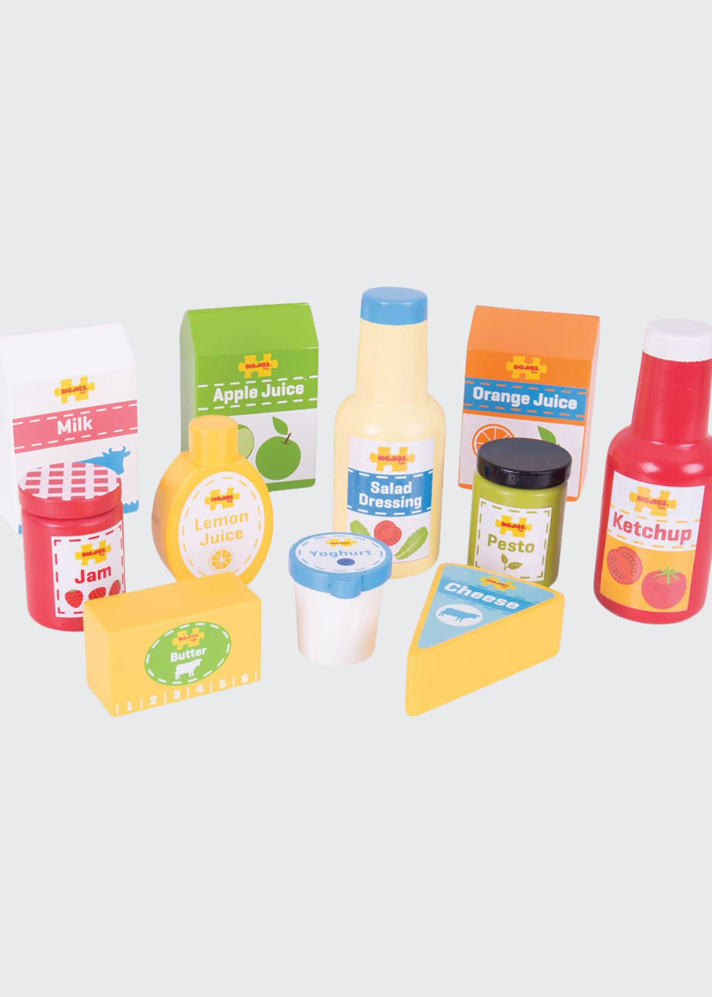 Bigjigs Toys Chilled Groceries Playset