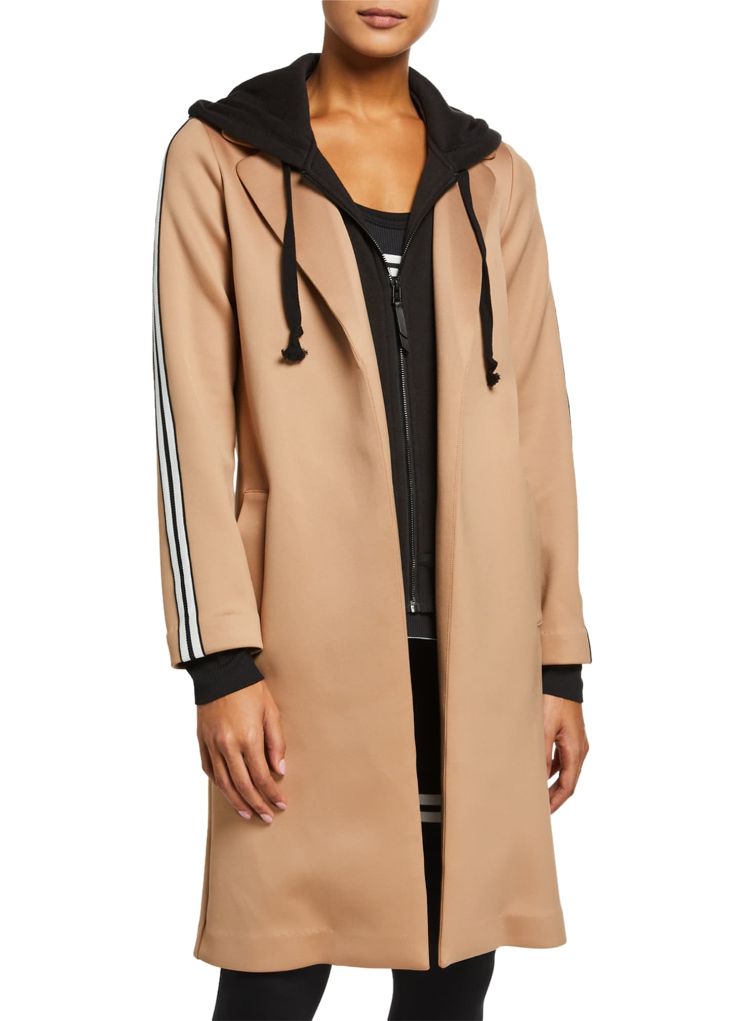 Lukka Lux The Nayomi Layered Side-Stripe Jacket