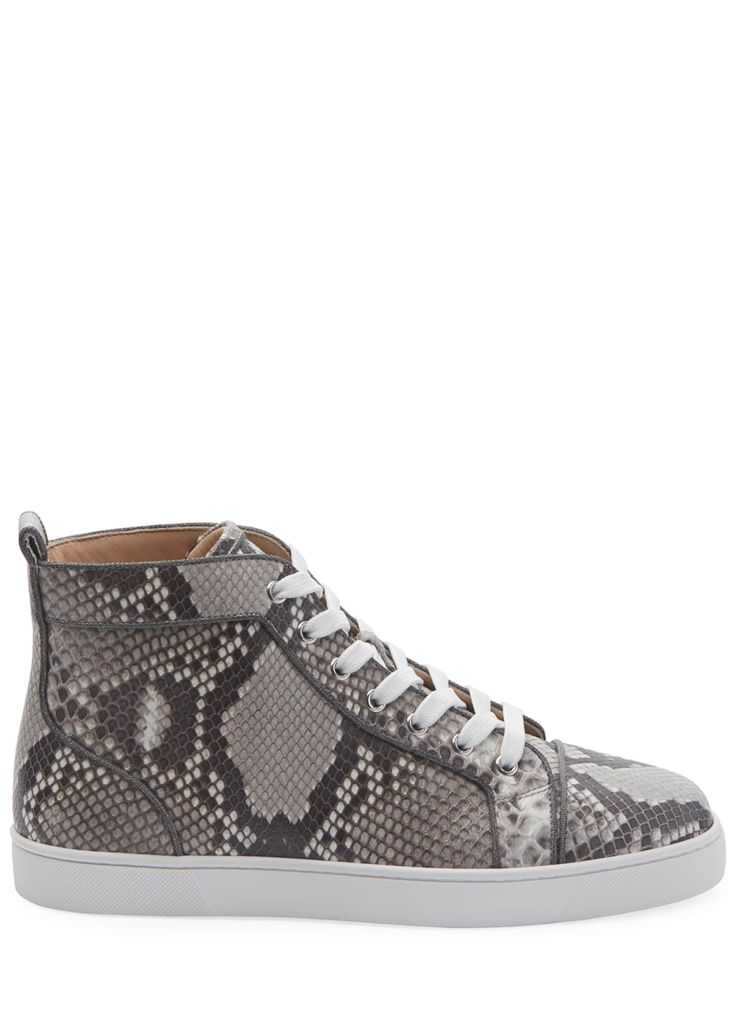 Image 2 of 4: Men's Louis Orlato Python Glow-in-the-Dark Sneakers