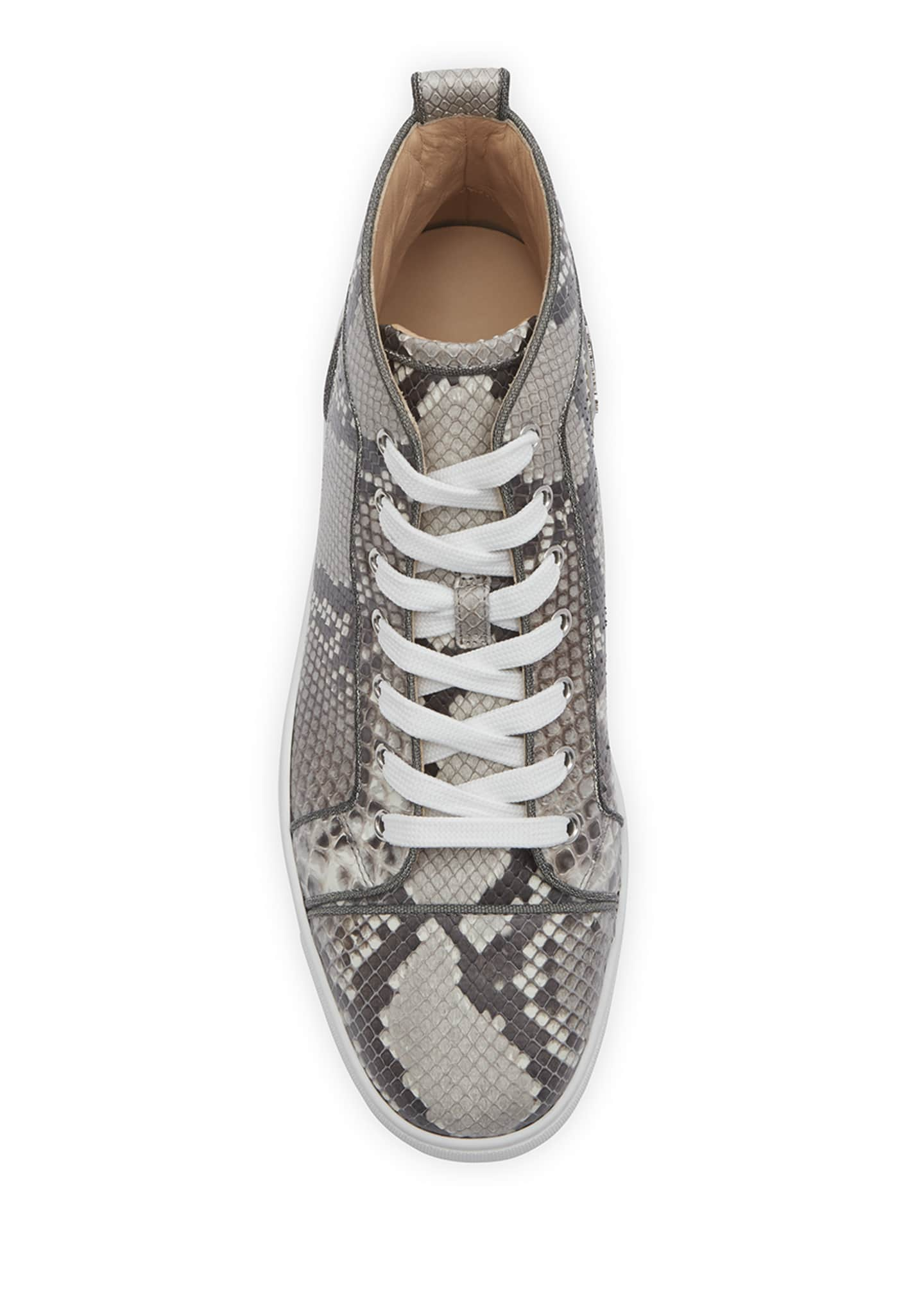 Image 3 of 4: Men's Louis Orlato Python Glow-in-the-Dark Sneakers