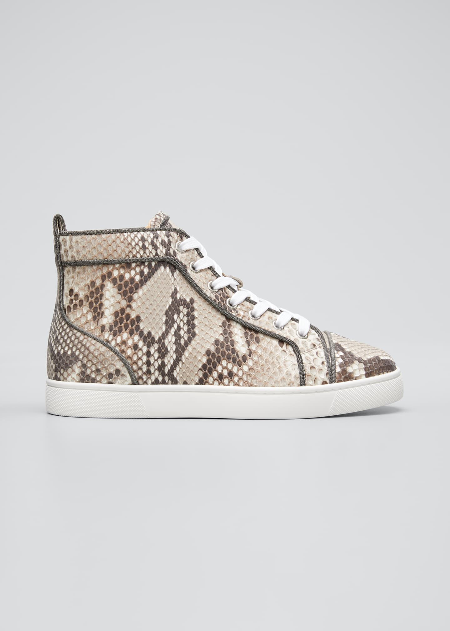 Image 1 of 4: Men's Louis Orlato Python Glow-in-the-Dark Sneakers