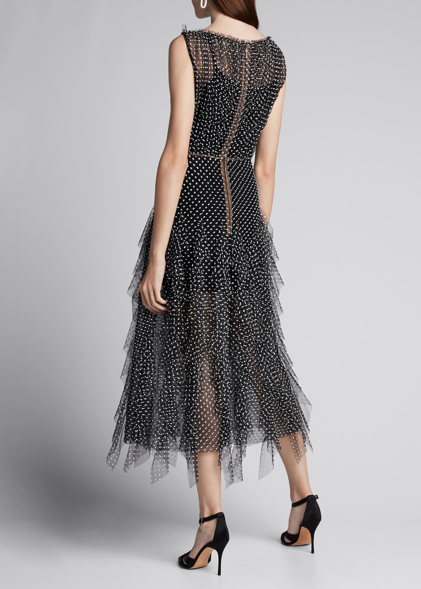 Image 2 of 5: Polka Dot Tulle Dress