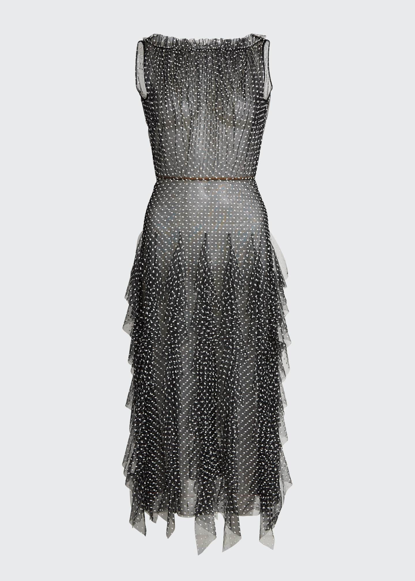 Image 5 of 5: Polka Dot Tulle Dress